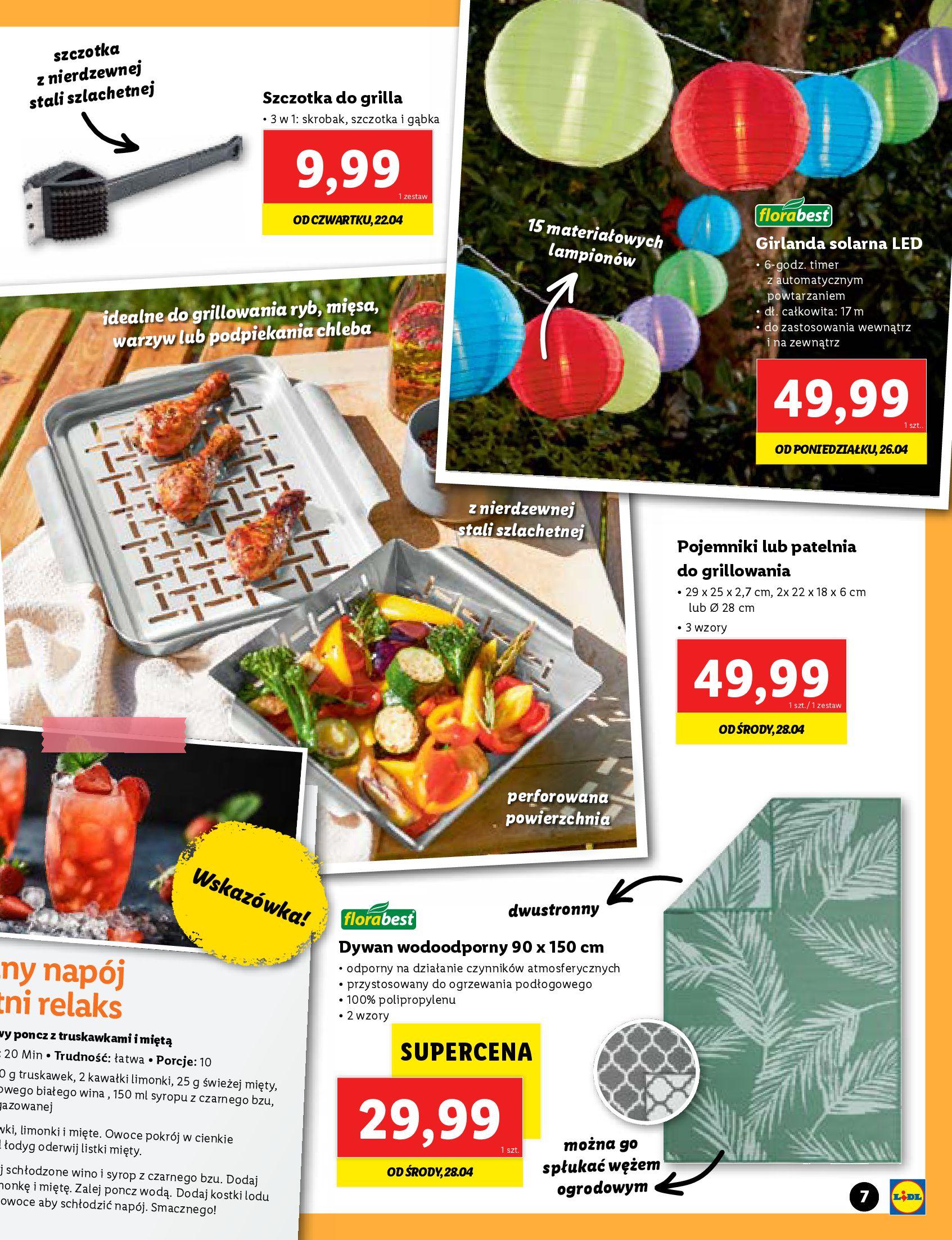 Gazetka Lidl: Katalog Majówka 2021 2021-04-22 page-7