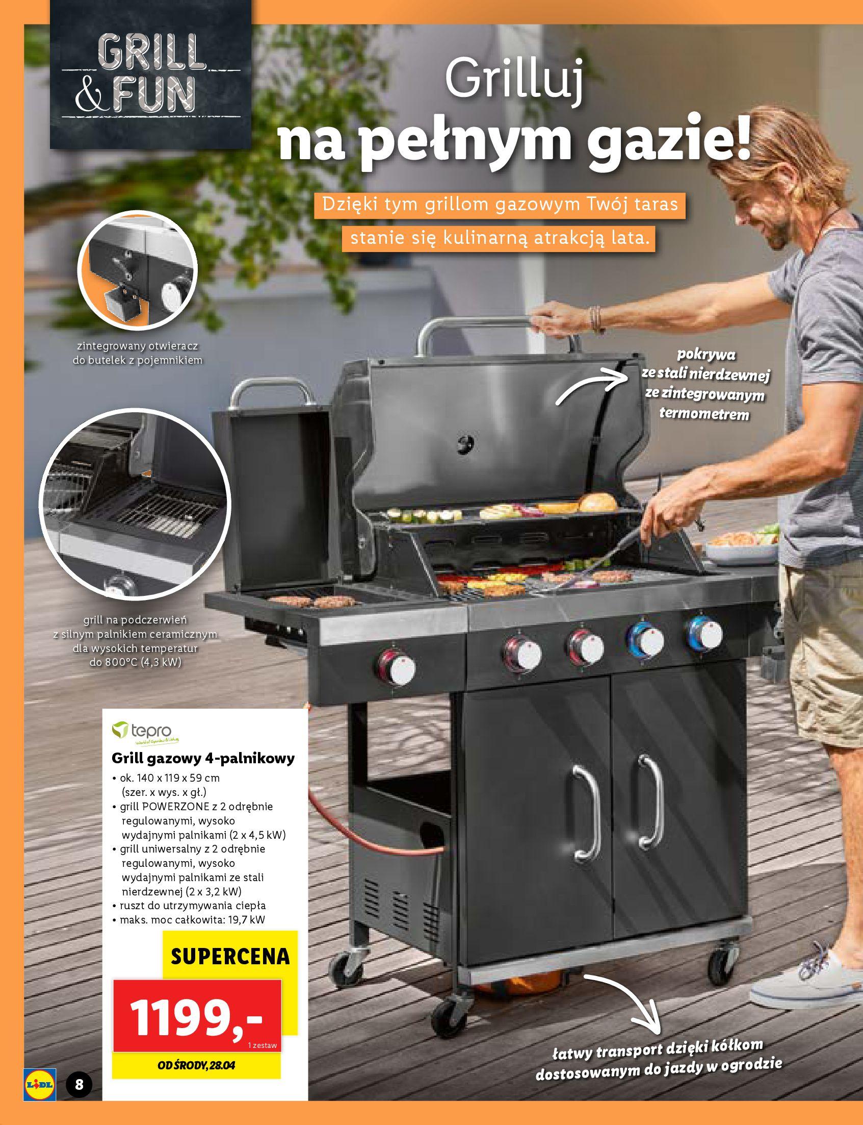 Gazetka Lidl: Katalog Majówka 2021 2021-04-22 page-8