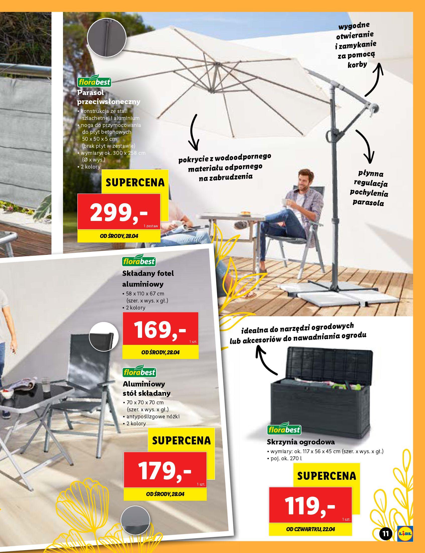 Gazetka Lidl: Katalog Majówka 2021 2021-04-22 page-11