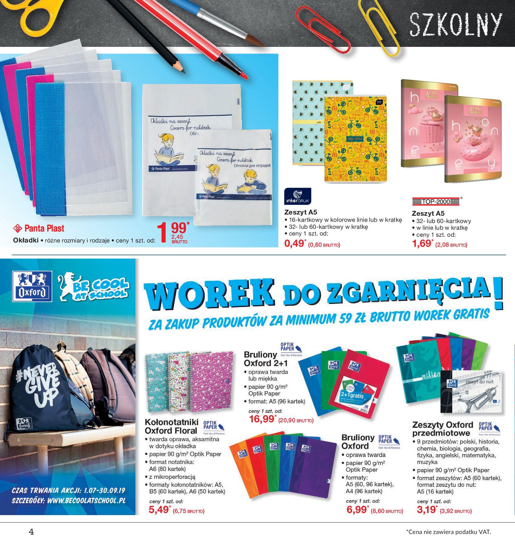 Gazetka Makro - Do szkoły, gotowi, start!-12.08.2019-26.08.2019-page-4