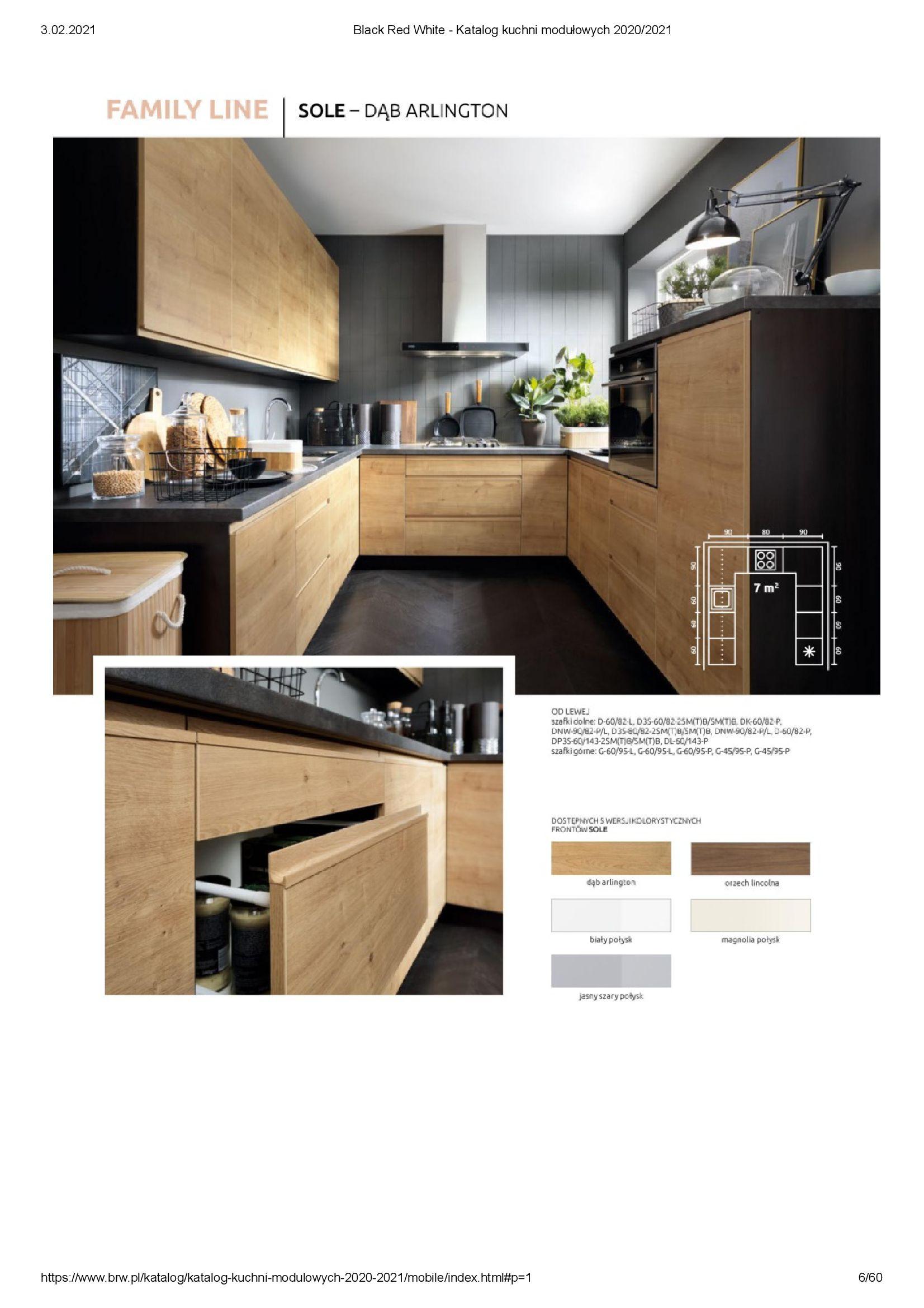 Gazetka Black Red White: Katalog - Kuchnie modułowe 2020/2021 2021-01-01 page-6