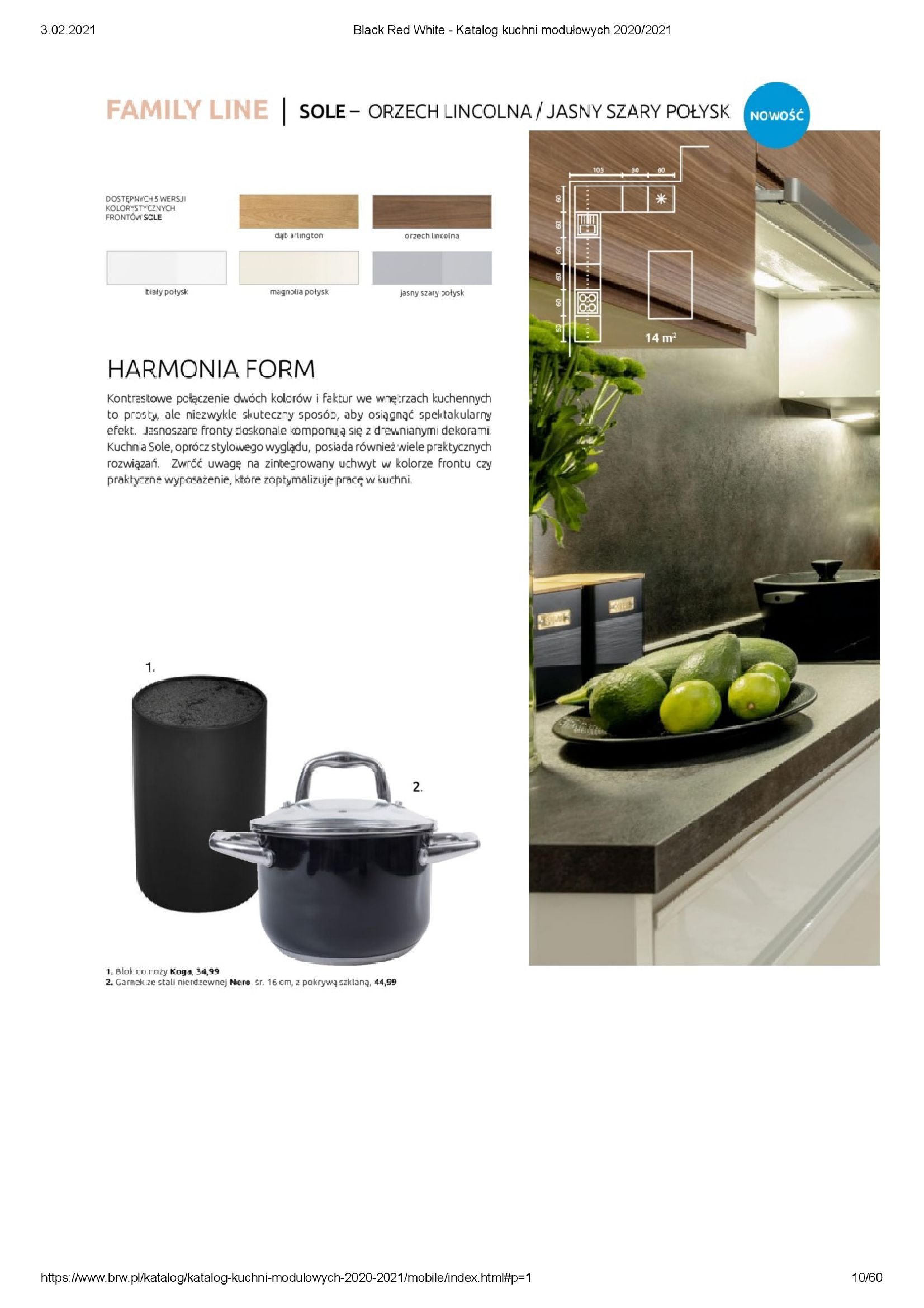 Gazetka Black Red White: Katalog - Kuchnie modułowe 2020/2021 2021-01-01 page-10