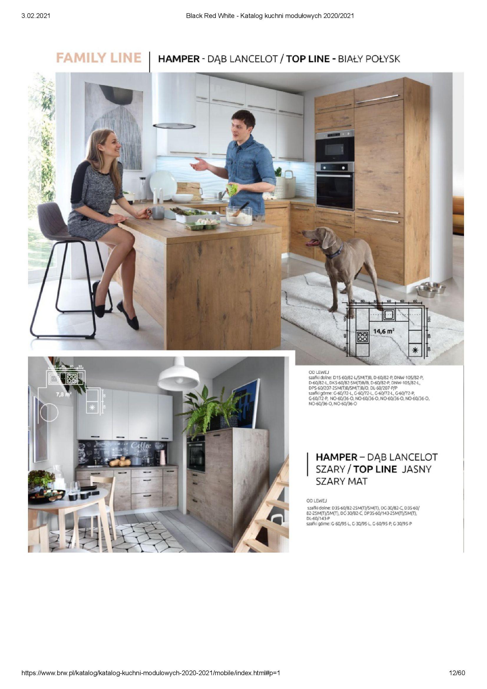 Gazetka Black Red White: Katalog - Kuchnie modułowe 2020/2021 2021-01-01 page-12