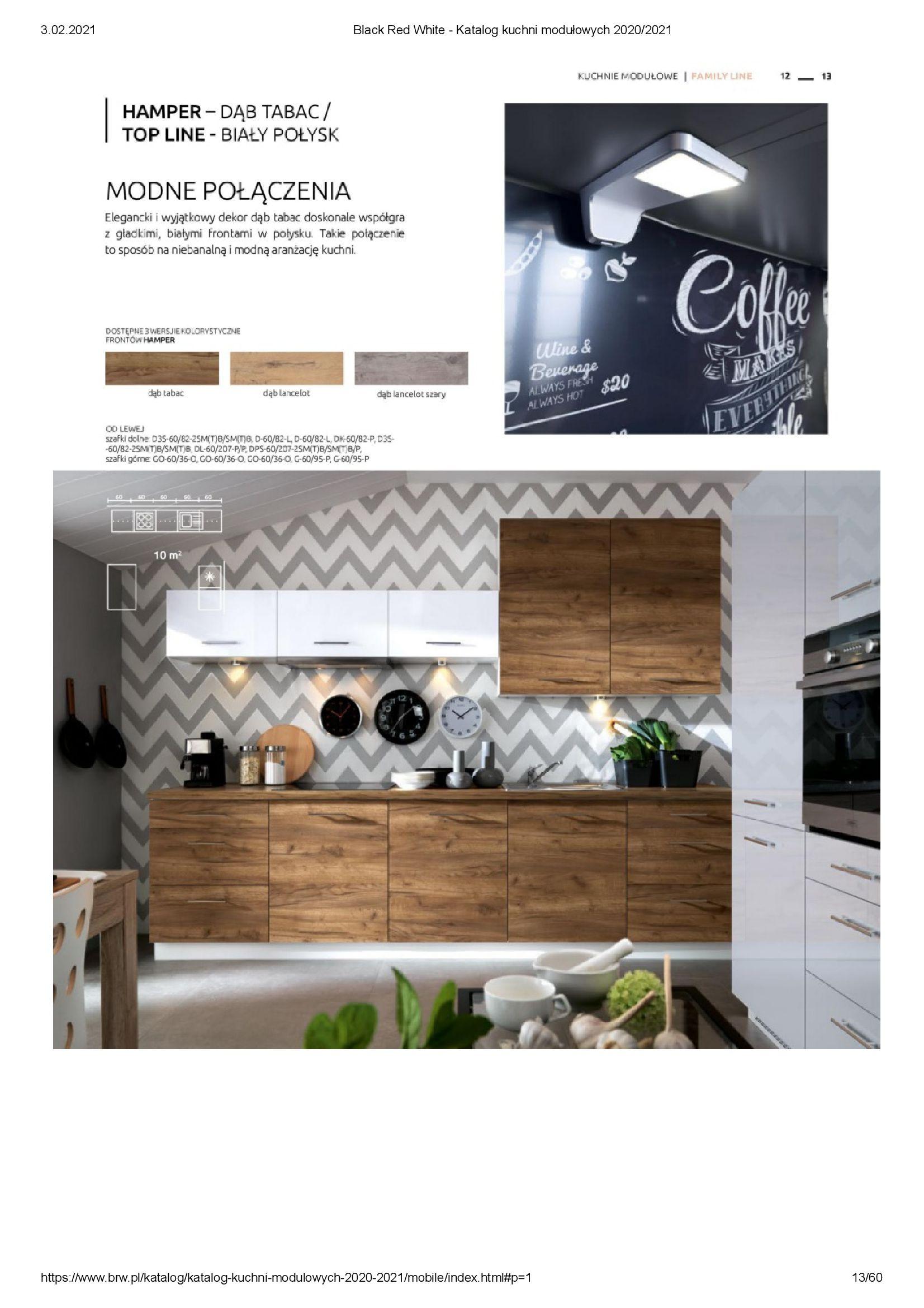 Gazetka Black Red White: Katalog - Kuchnie modułowe 2020/2021 2021-01-01 page-13
