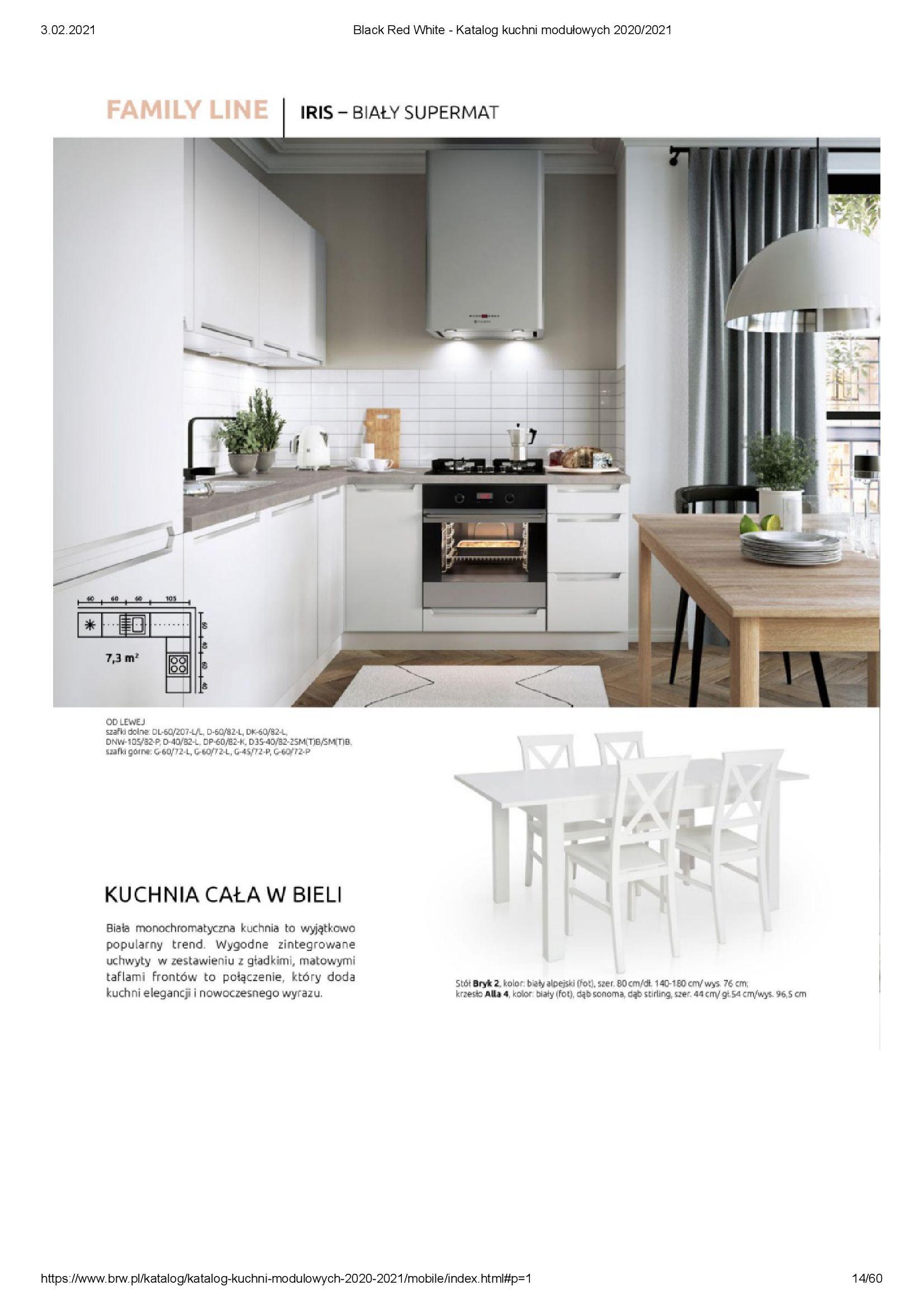 Gazetka Black Red White: Katalog - Kuchnie modułowe 2020/2021 2021-01-01 page-14