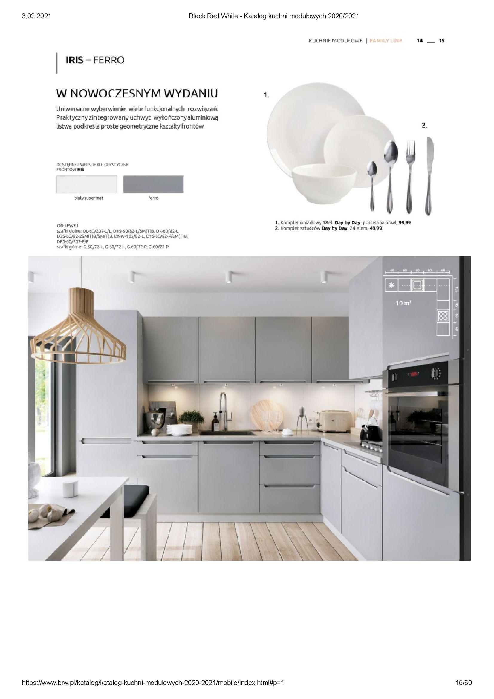 Gazetka Black Red White: Katalog - Kuchnie modułowe 2020/2021 2021-01-01 page-15