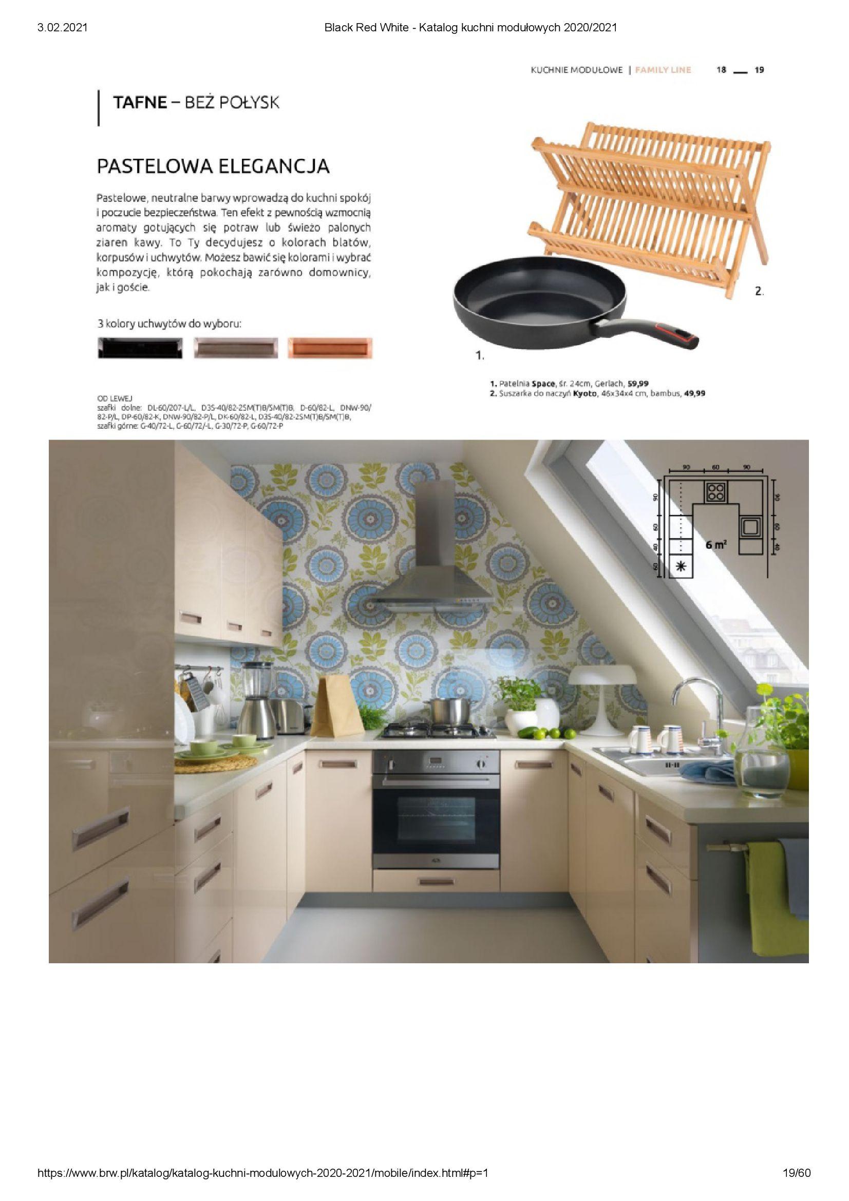 Gazetka Black Red White: Katalog - Kuchnie modułowe 2020/2021 2021-01-01 page-19
