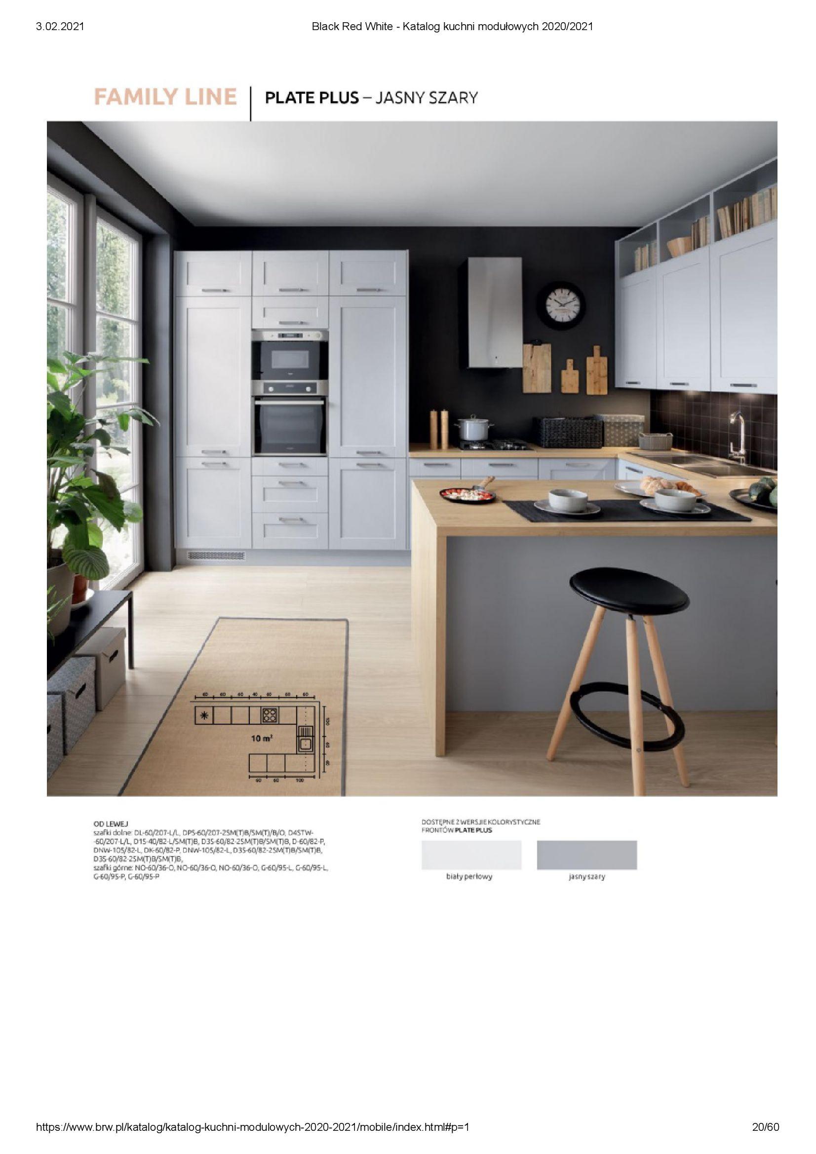 Gazetka Black Red White: Katalog - Kuchnie modułowe 2020/2021 2021-01-01 page-20