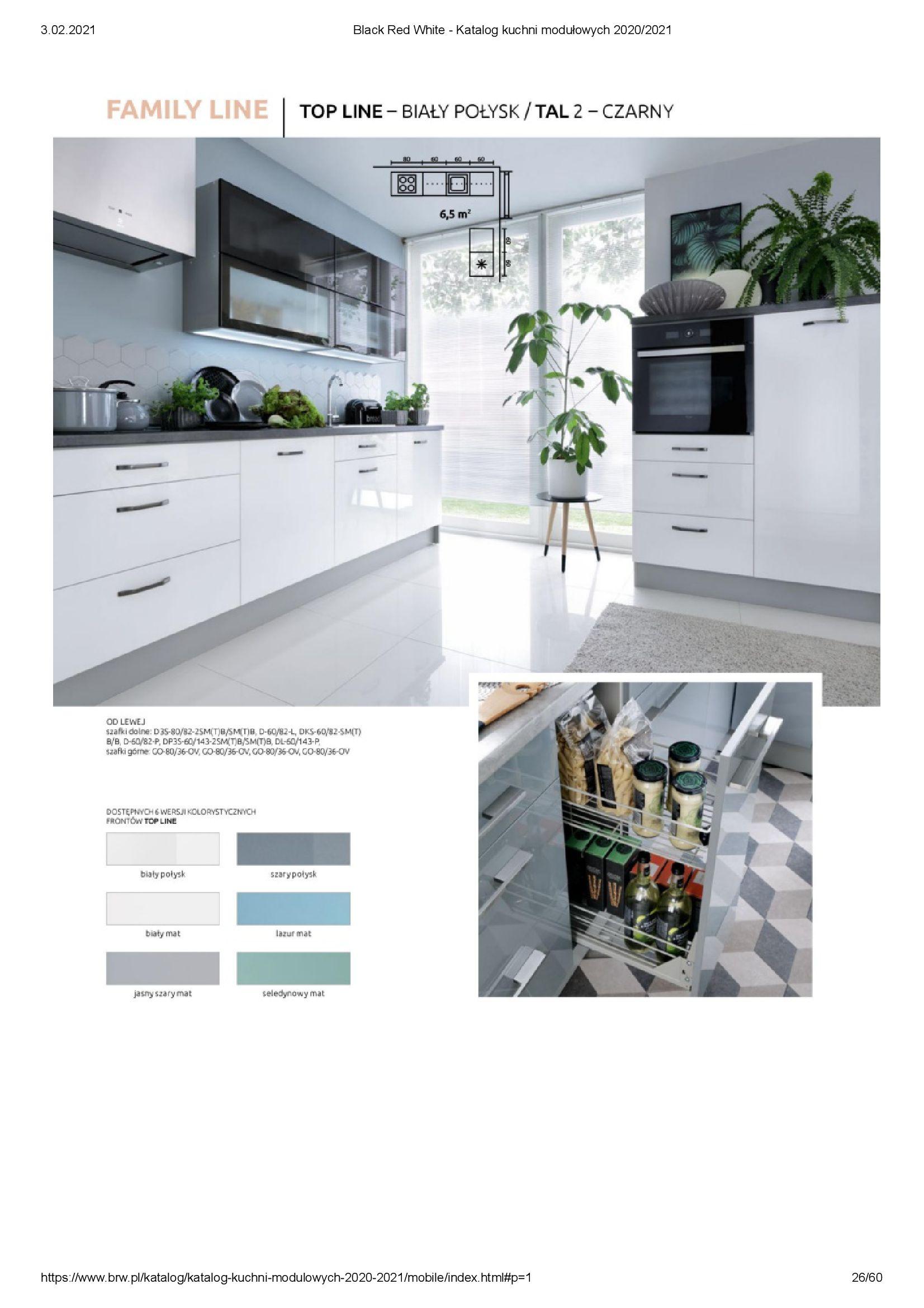 Gazetka Black Red White: Katalog - Kuchnie modułowe 2020/2021 2021-01-01 page-26