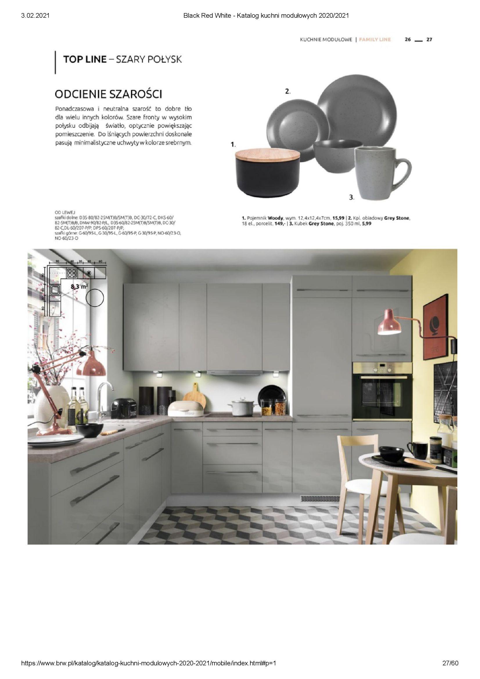 Gazetka Black Red White: Katalog - Kuchnie modułowe 2020/2021 2021-01-01 page-27