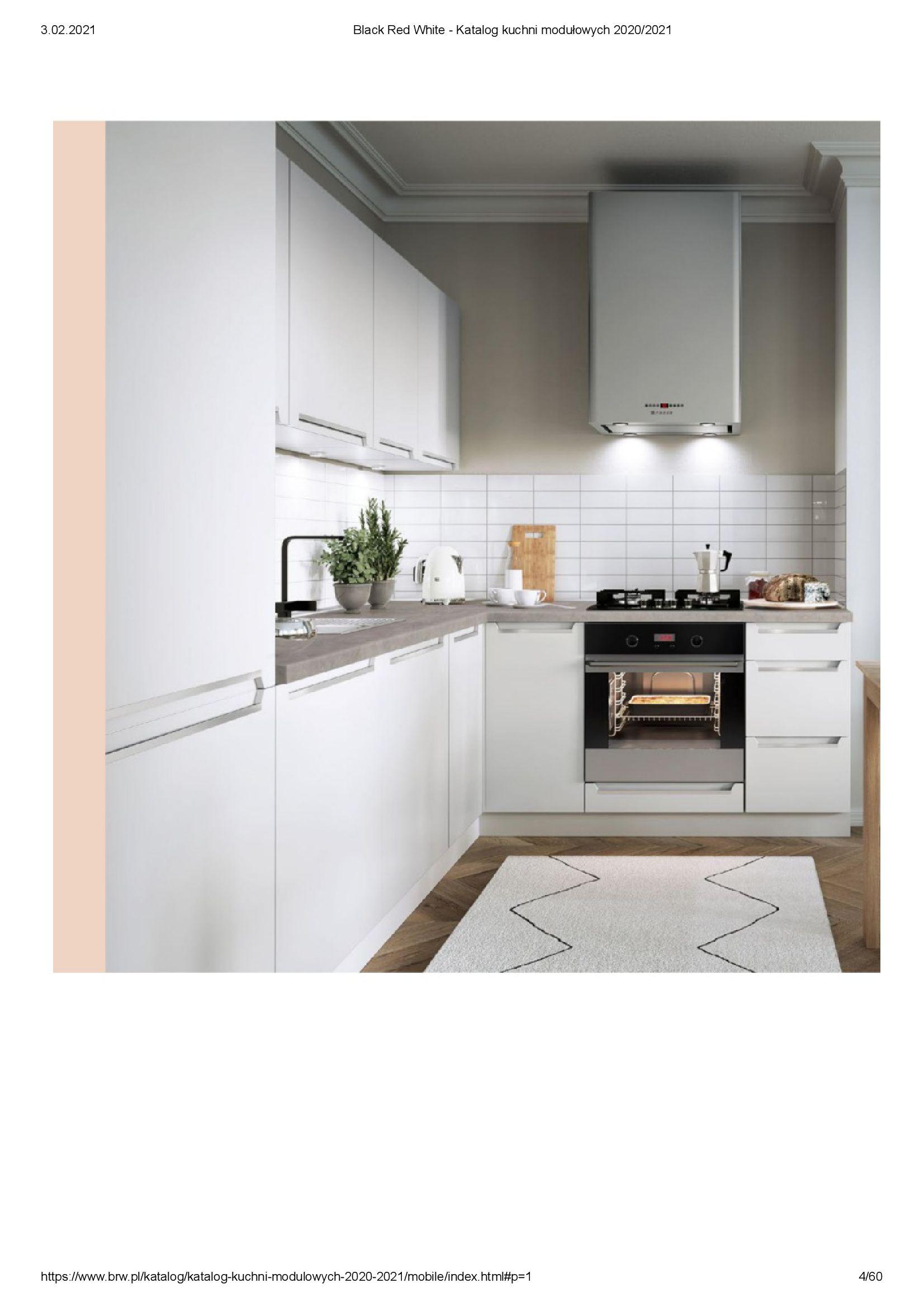Gazetka Black Red White: Katalog - Kuchnie modułowe 2020/2021 2021-01-01 page-4