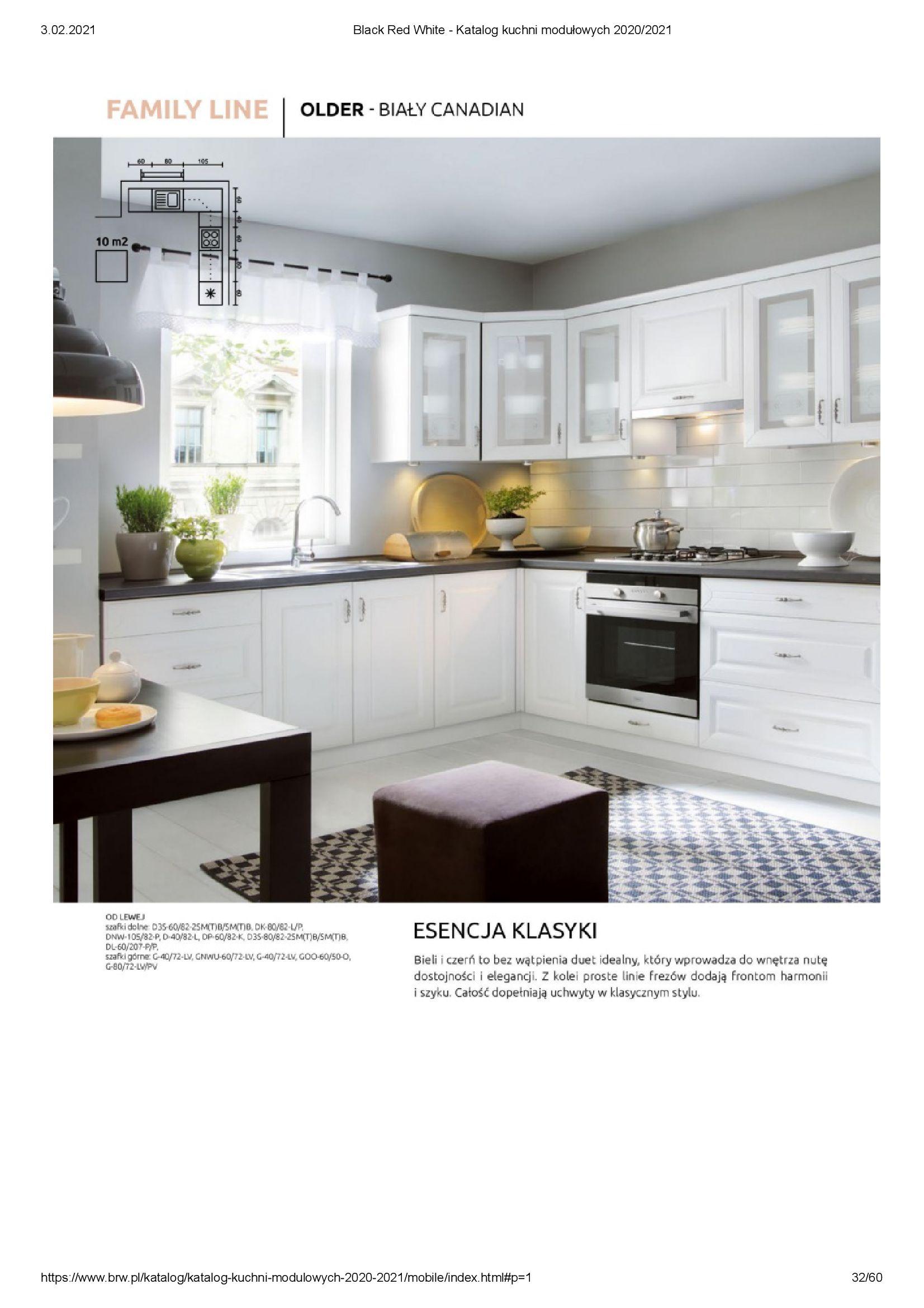Gazetka Black Red White: Katalog - Kuchnie modułowe 2020/2021 2021-01-01 page-32