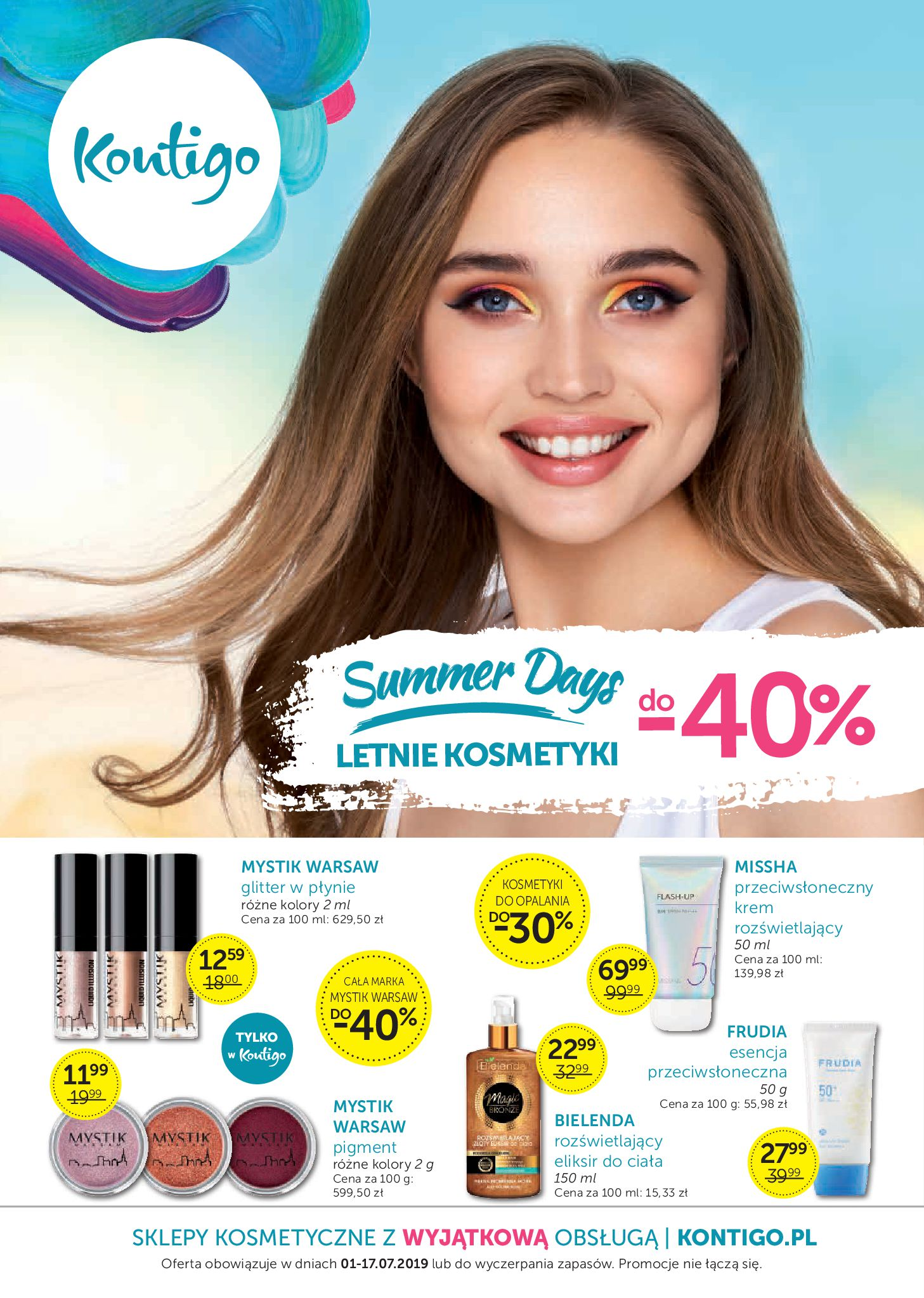 Gazetka Kontigo - Summer Days-30.06.2019-17.07.2019-page-