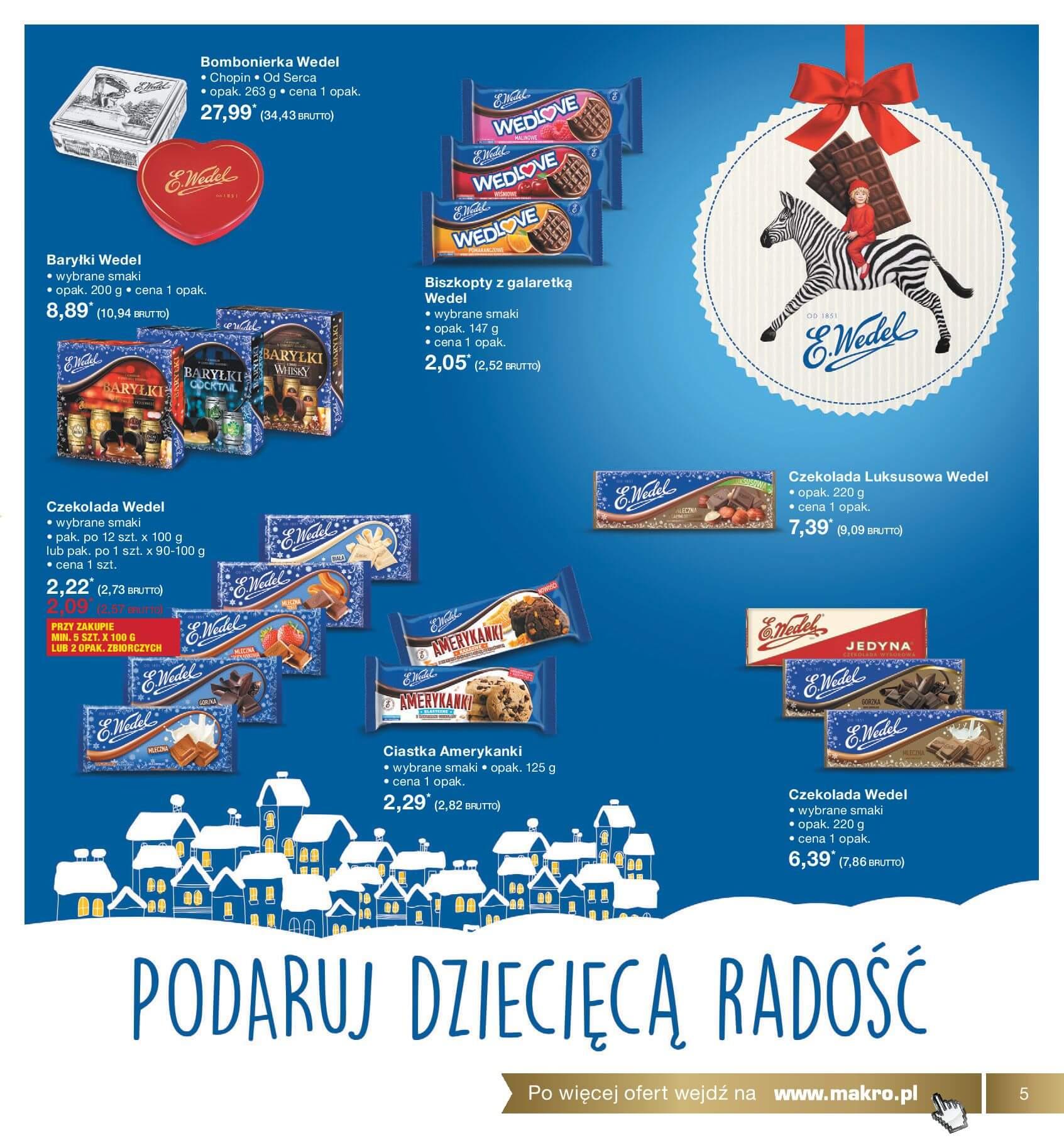 Gazetka Makro - Z wizytą na Święta-04.12.2017-24.12.2017-page-5