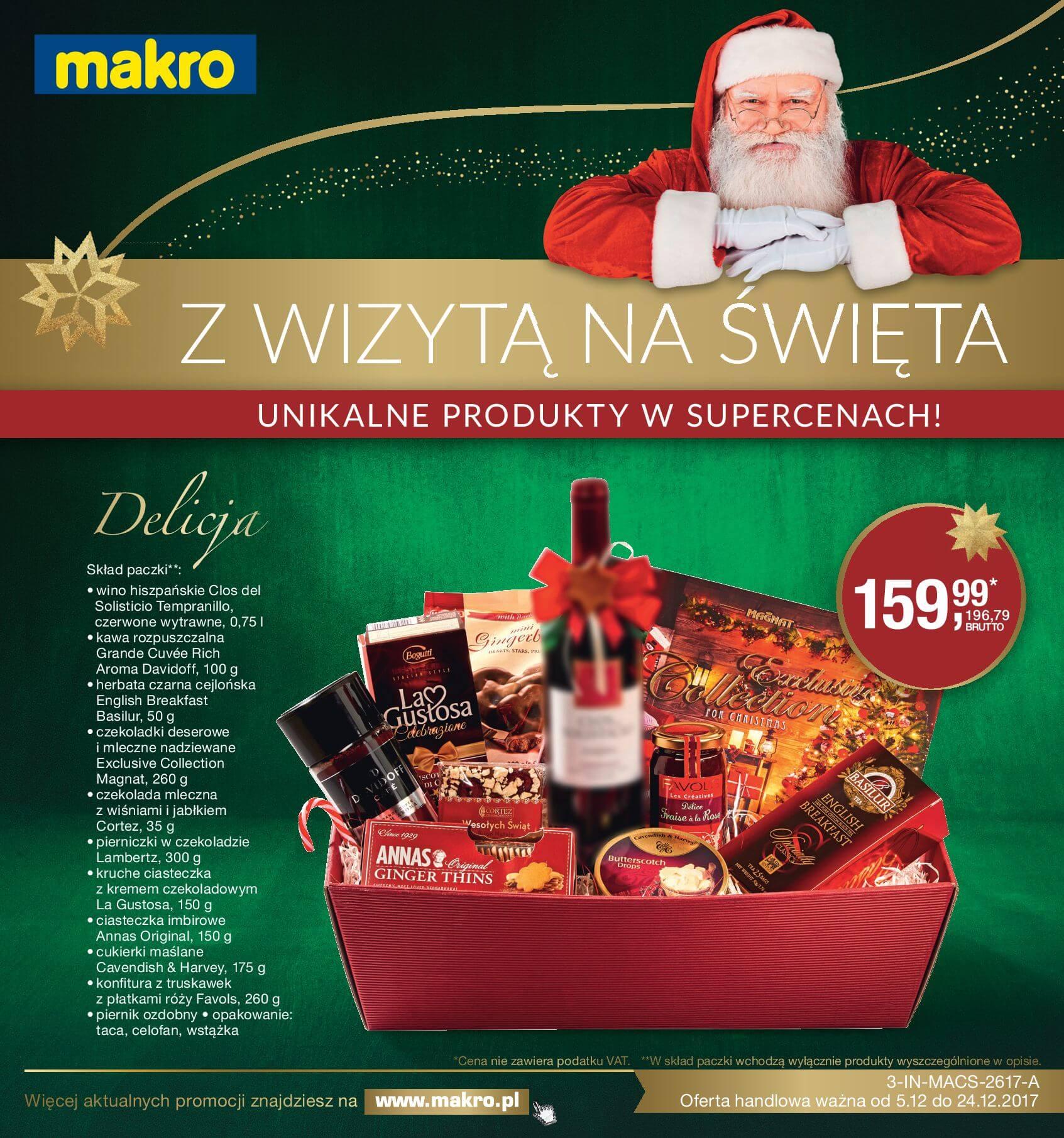 Gazetka Makro - Z wizytą na Święta-04.12.2017-24.12.2017-page-1