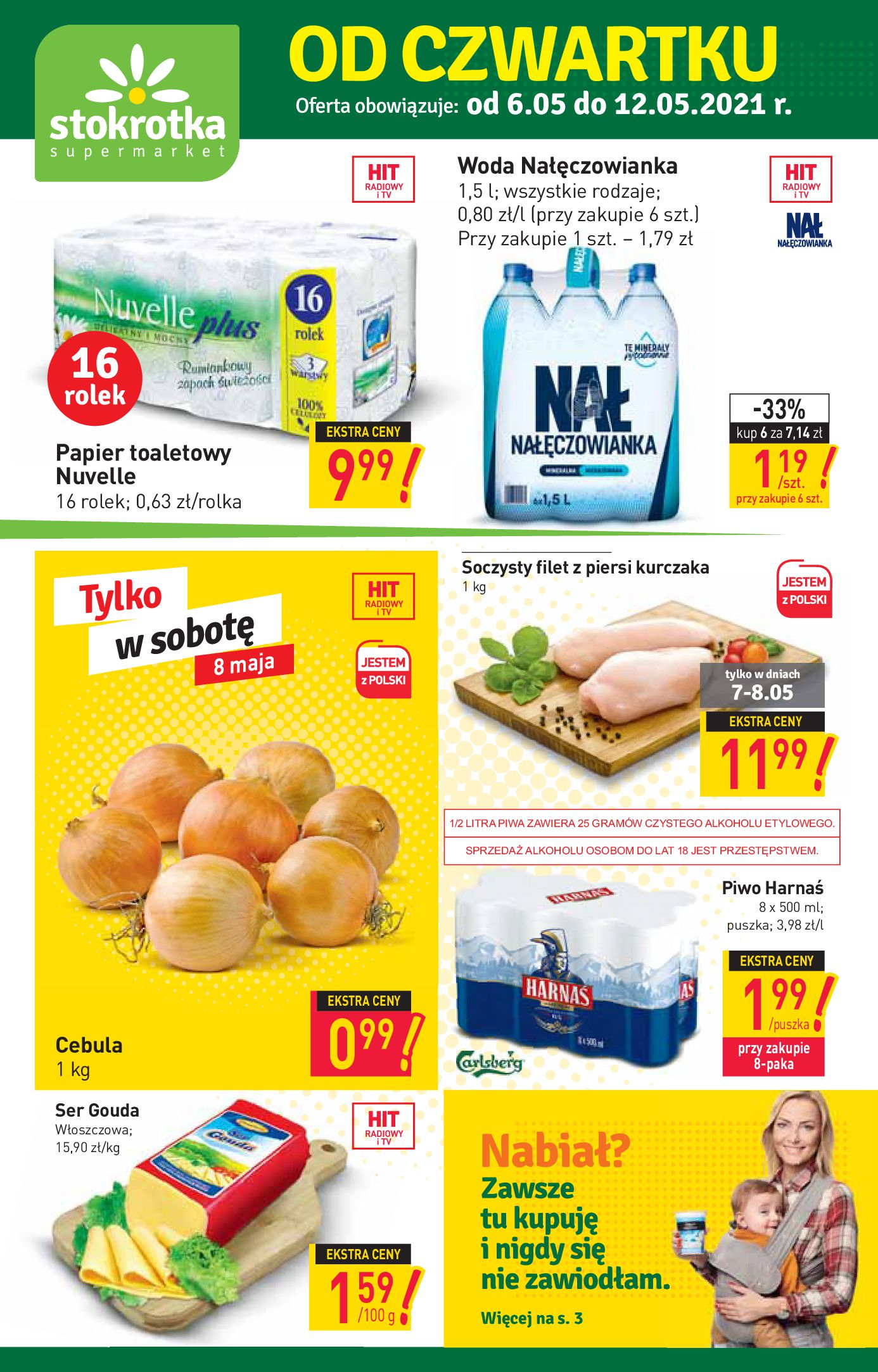 Stokrotka Supermarket:  Oferta handlowa 05.05.2021