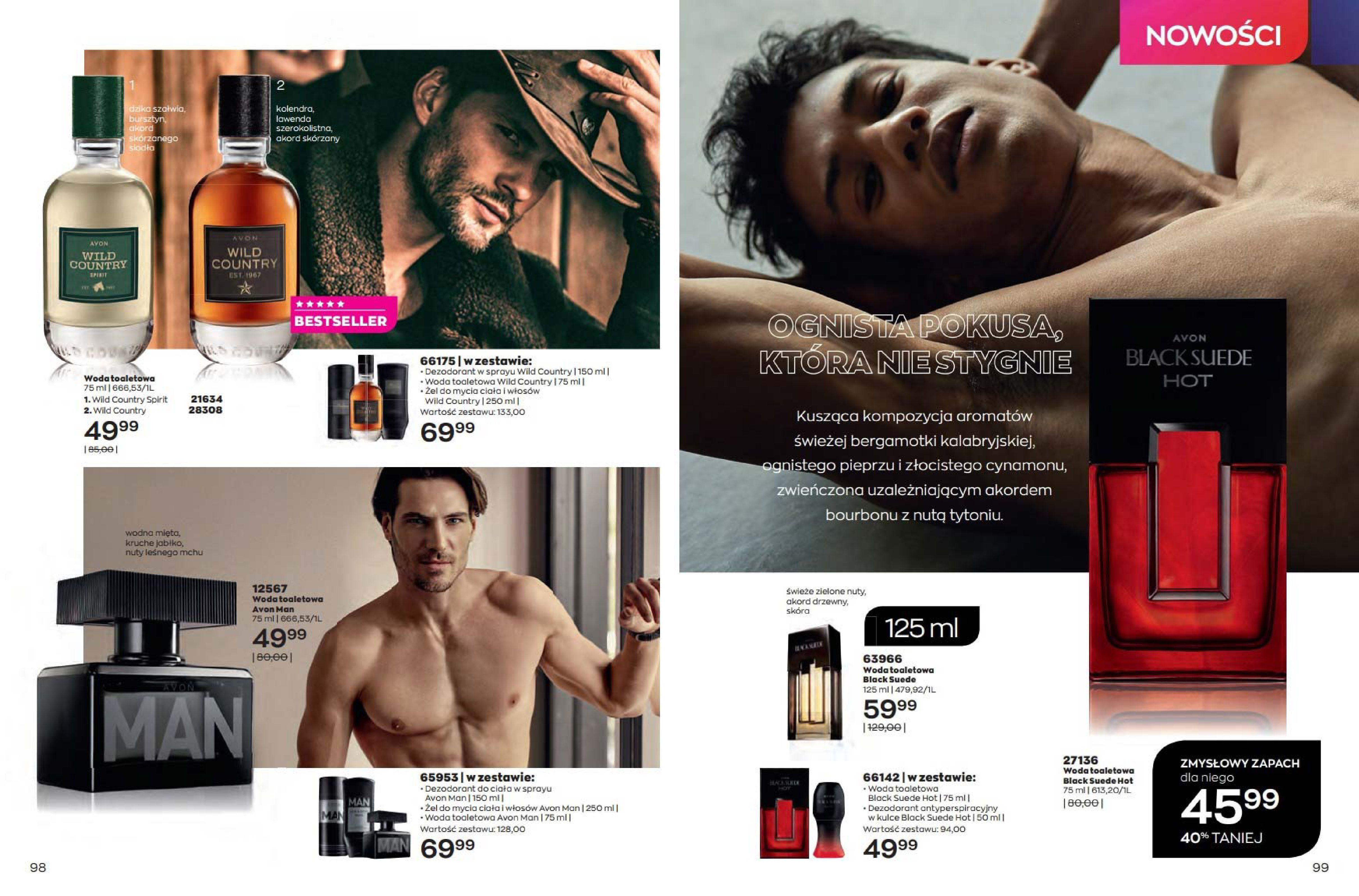 Gazetka Avon: Katalog Avon Sierpień 2021 2021-08-01 page-50