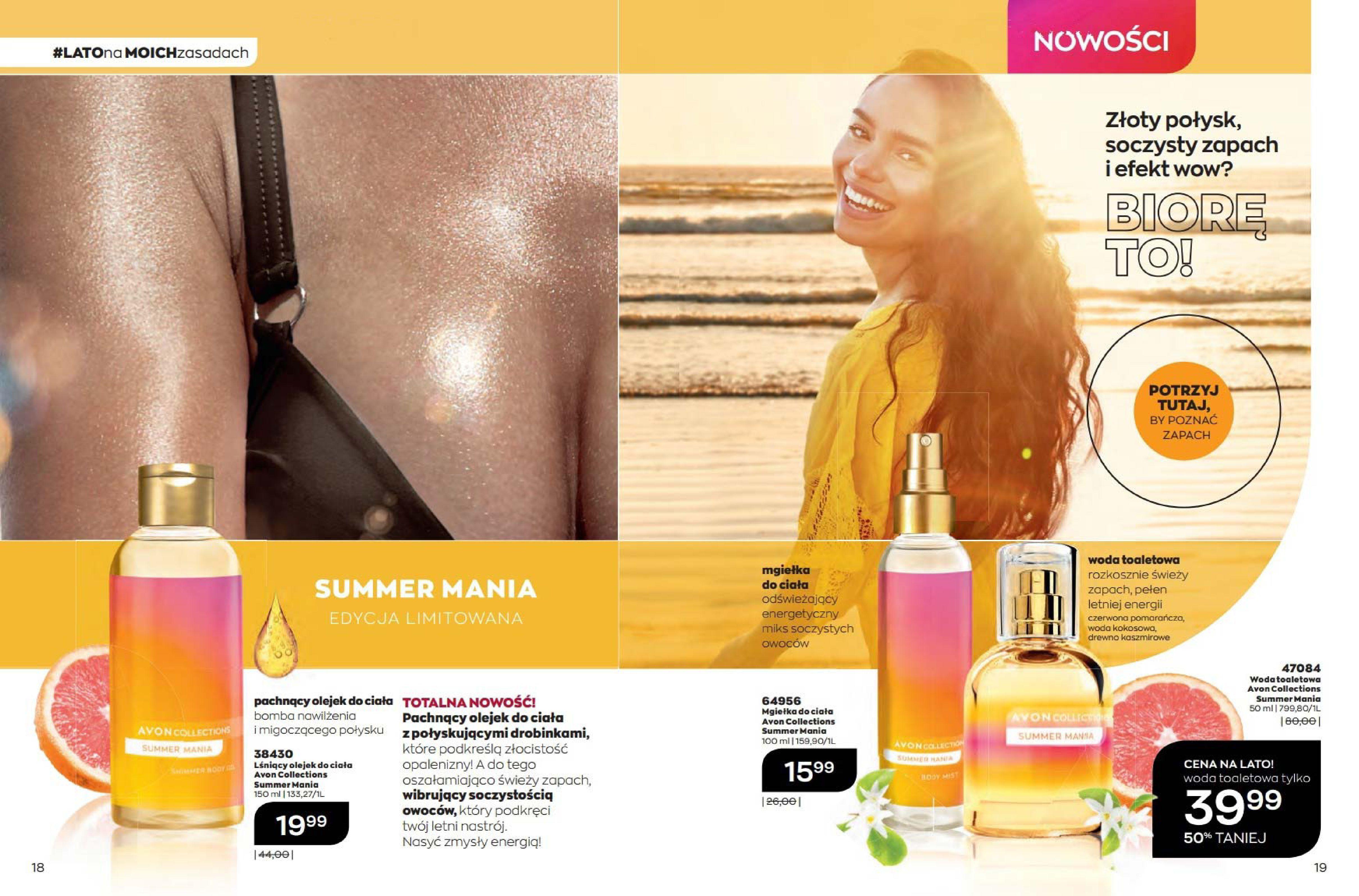 Gazetka Avon: Katalog Avon Sierpień 2021 2021-08-01 page-10