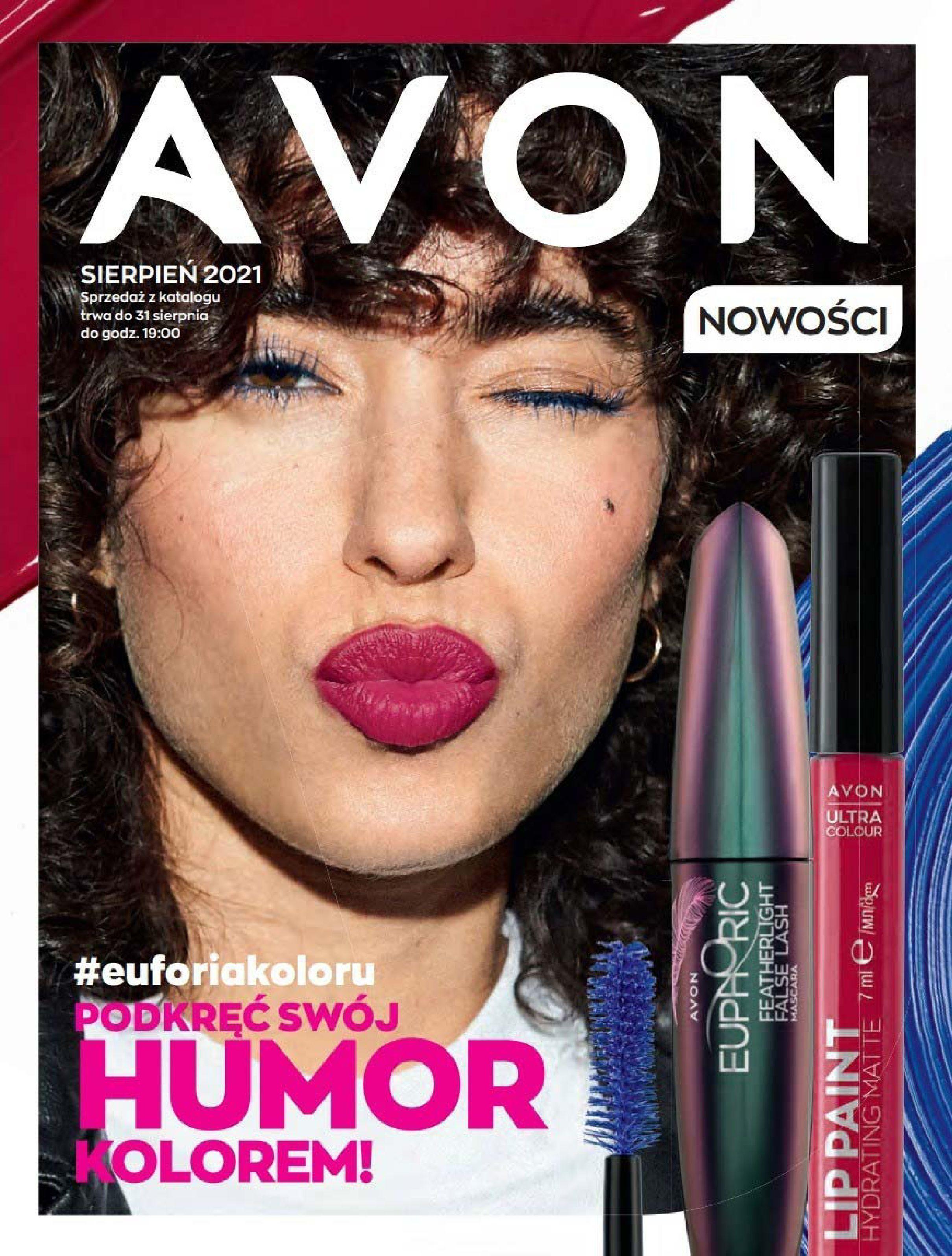 Gazetka Avon: Katalog Avon Sierpień 2021 2021-08-01 page-1