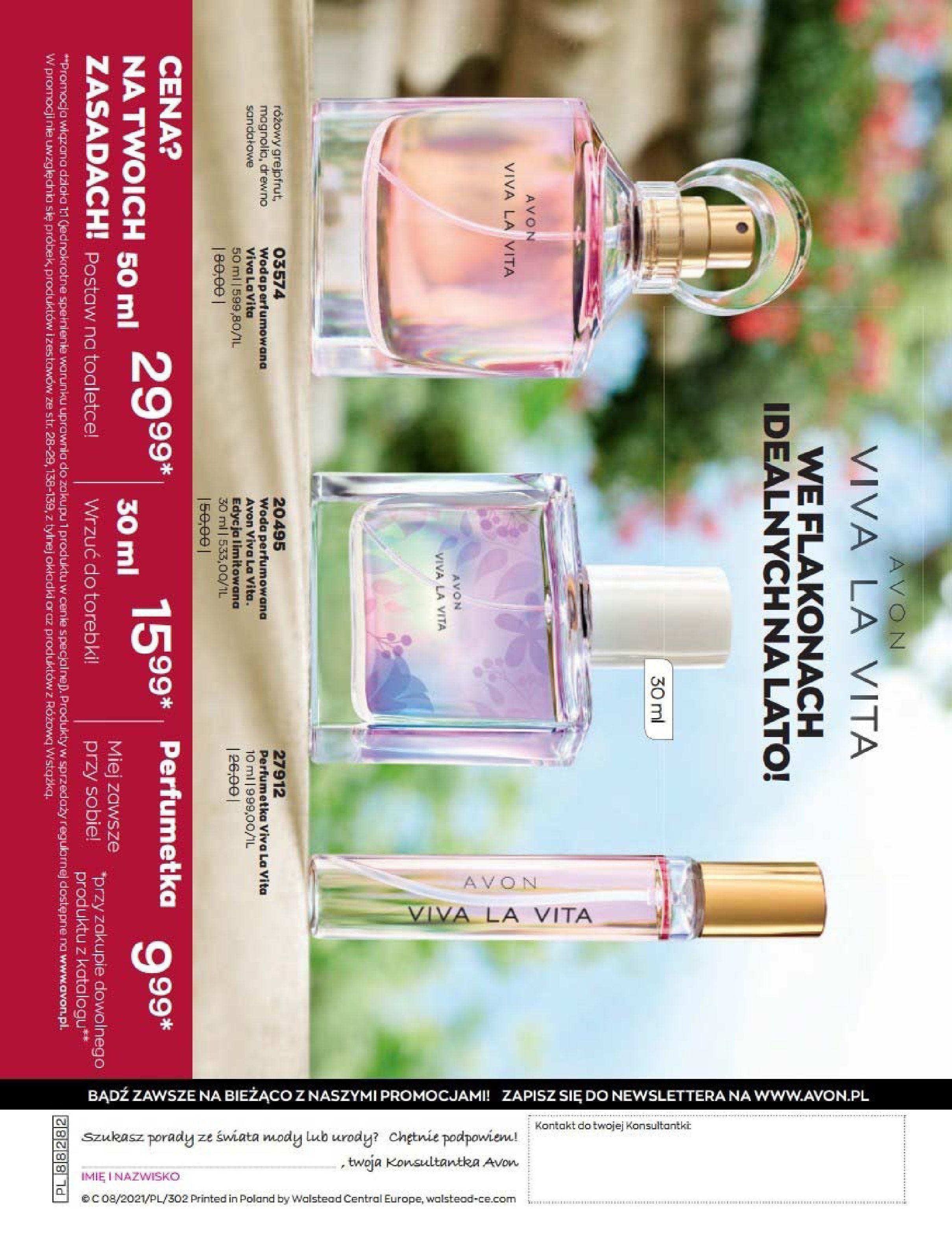 Gazetka Avon: Katalog Avon Sierpień 2021 2021-08-01 page-110