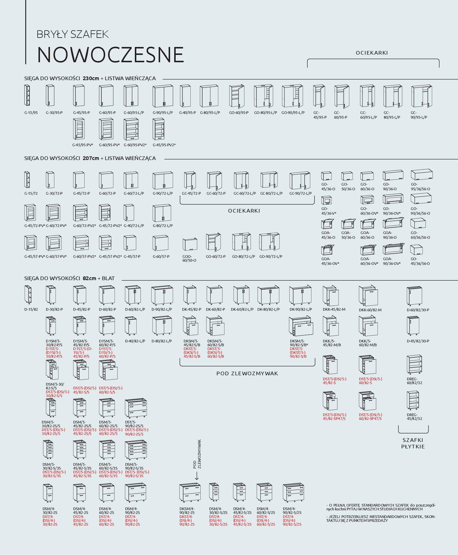 Gazetka Black Red White - Katalog - Kuchnie na wymiar-31.12.2019-31.12.2020-page-36