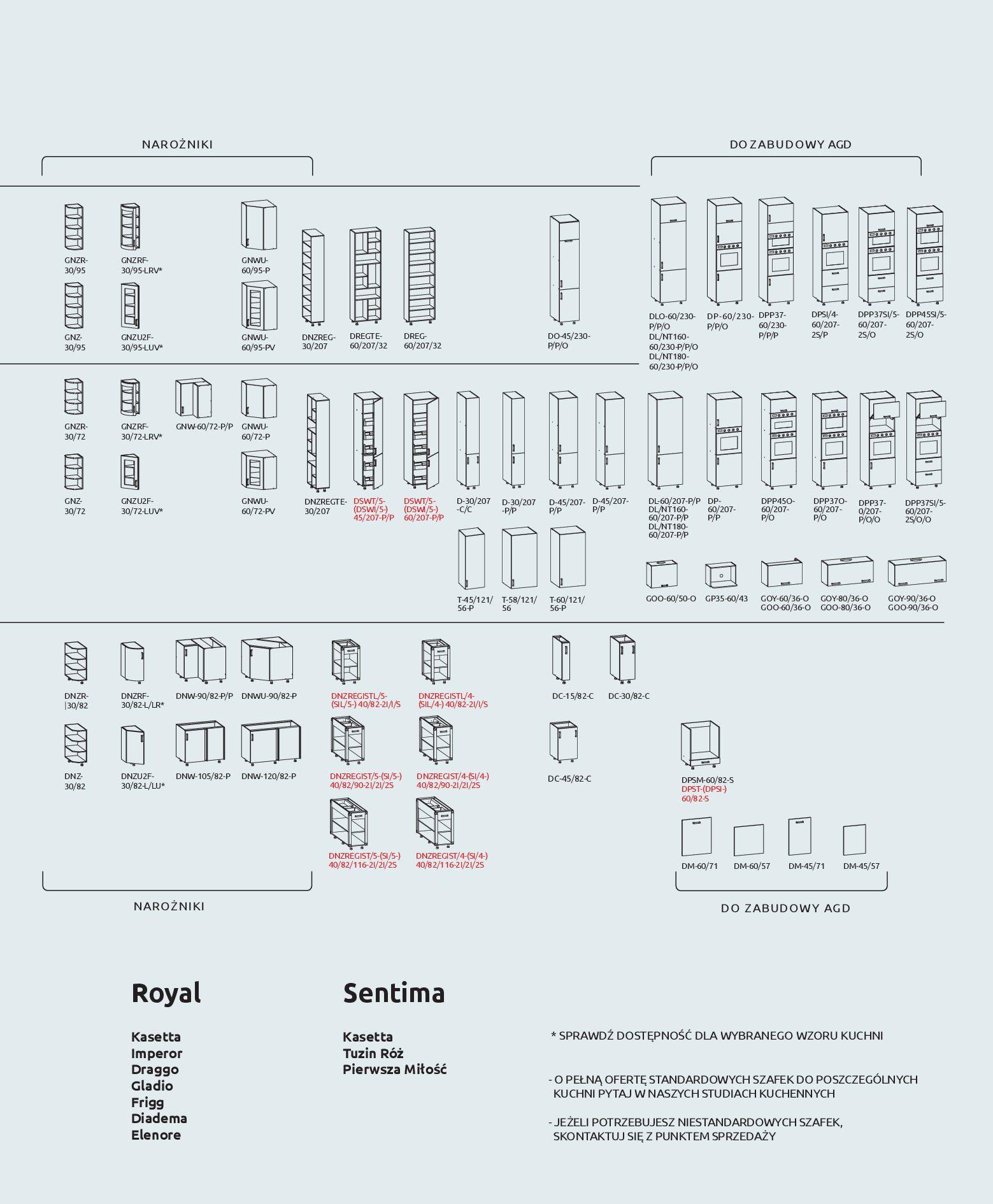 Gazetka Black Red White - Katalog - Kuchnie na wymiar-31.12.2019-31.12.2020-page-39