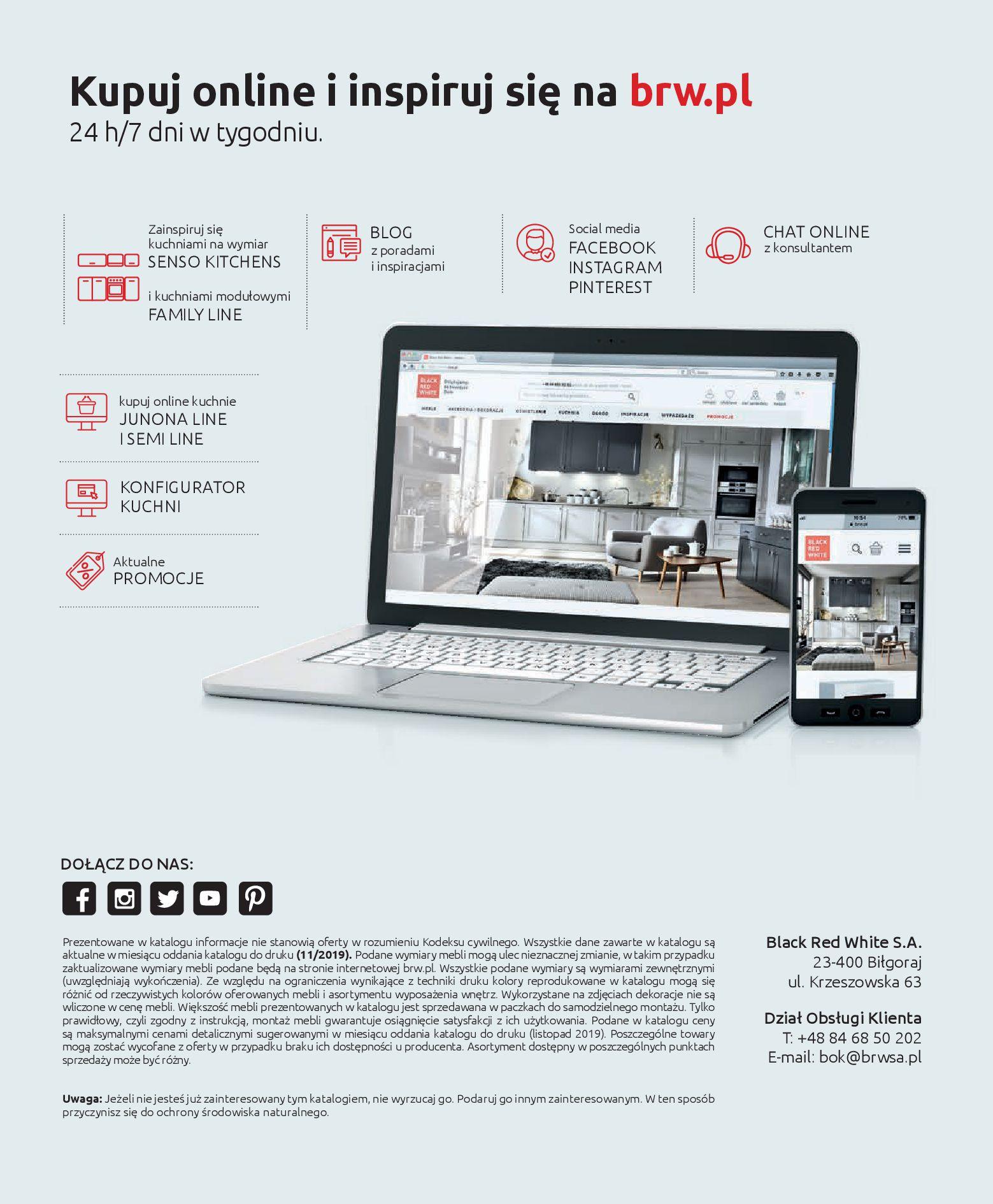 Gazetka Black Red White - Katalog - Kuchnie na wymiar-31.12.2019-31.12.2020-page-40