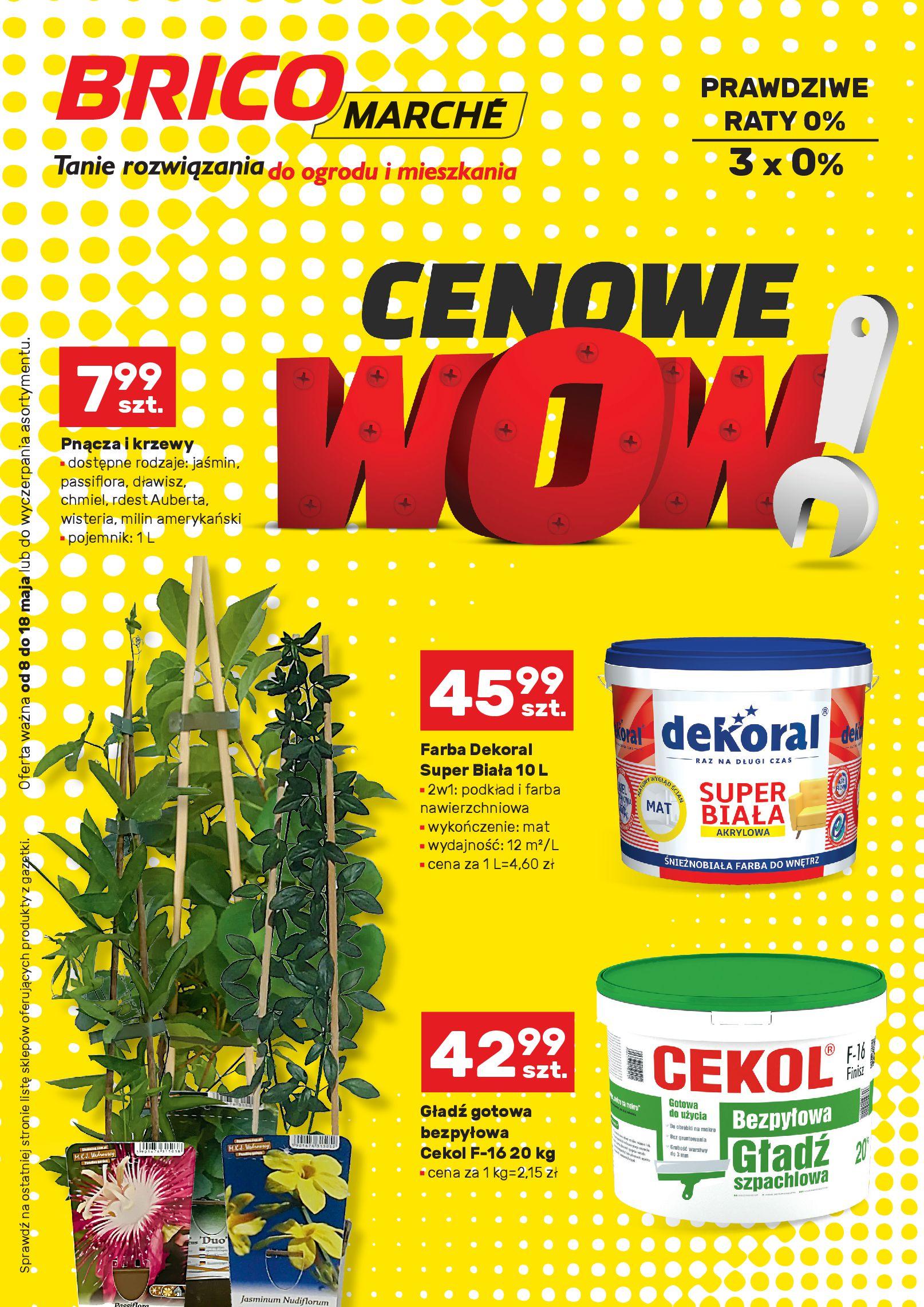 Gazetka Bricomarché - Cenowe WOW!-07.05.2019-18.05.2019-page-