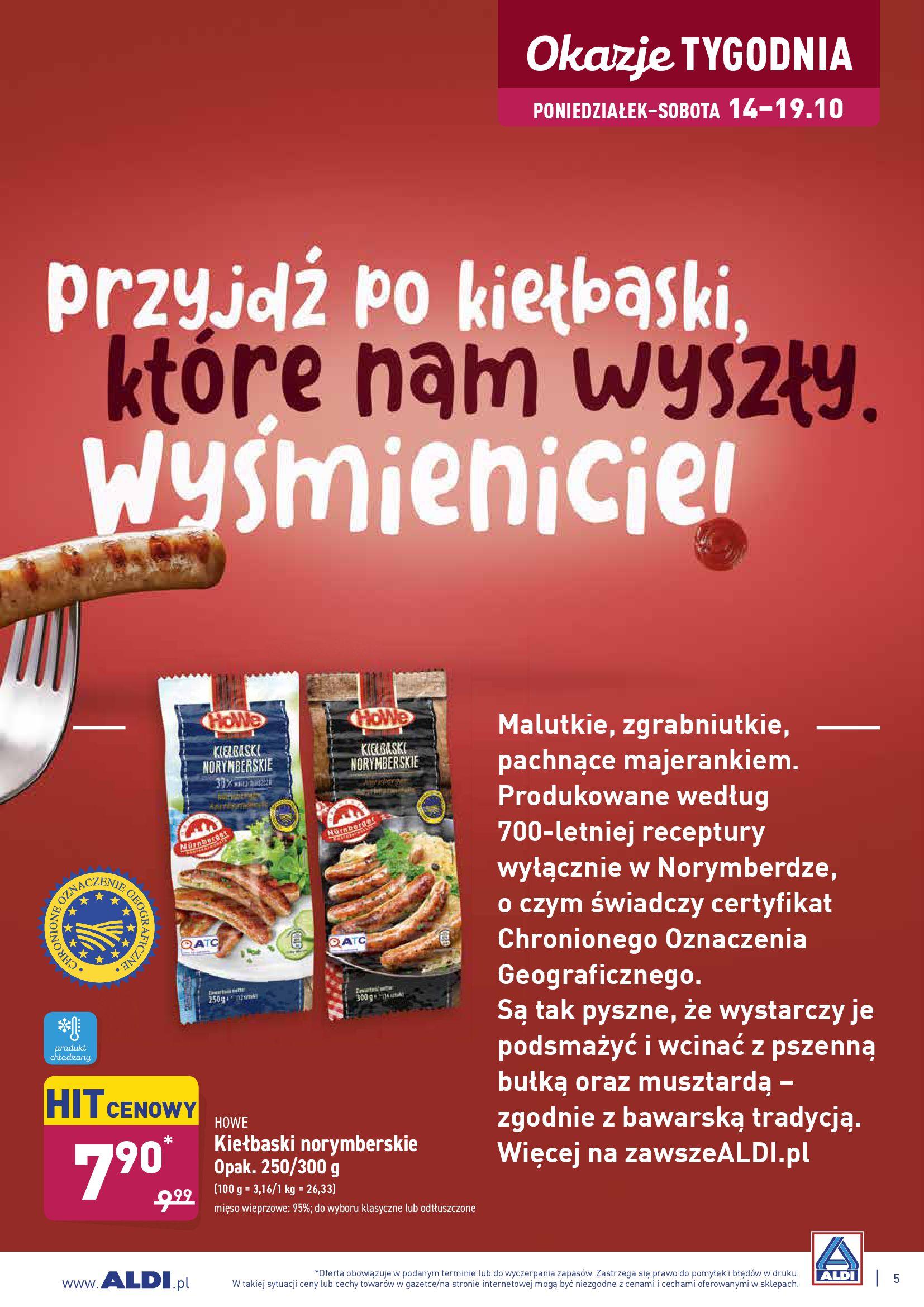Gazetka Aldi - Okazje tygodnia od 14.10-13.10.2019-20.10.2019-page-5