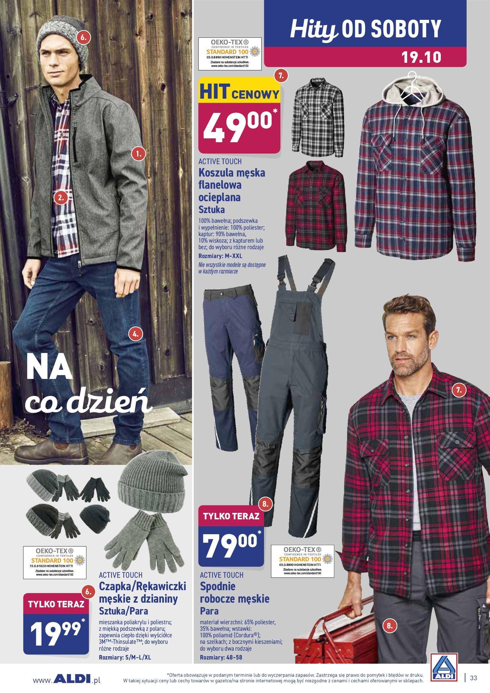 Gazetka Aldi - Okazje tygodnia od 14.10-13.10.2019-20.10.2019-page-33