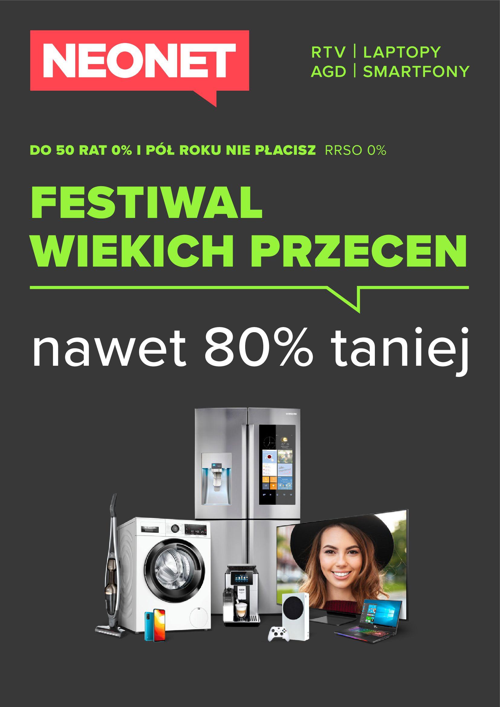 Neonet:  Gazetka Neonet - Festiwal wielkich przecen 12.05.2021