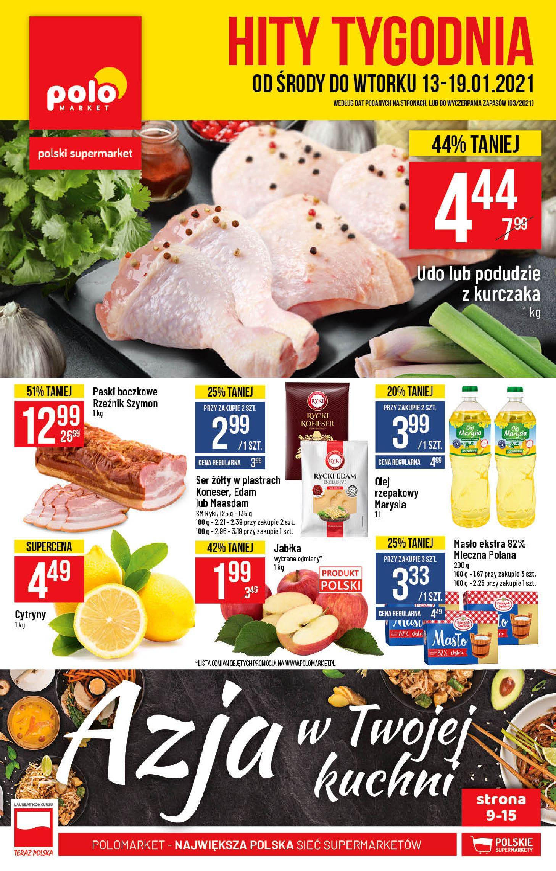 Gazetka Polomarket: Hity tygodnia od 13.01 2021-01-13 page-1