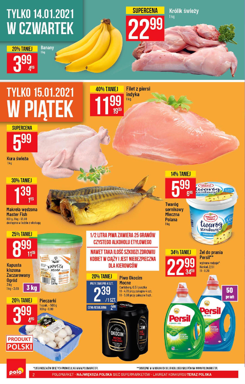 Gazetka Polomarket: Hity tygodnia od 13.01 2021-01-13 page-2