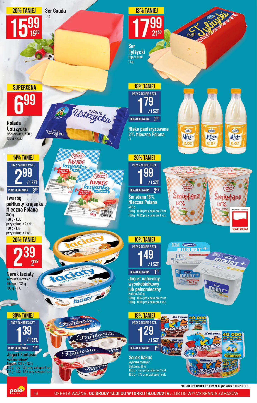 Gazetka Polomarket: Hity tygodnia od 13.01 2021-01-13 page-16