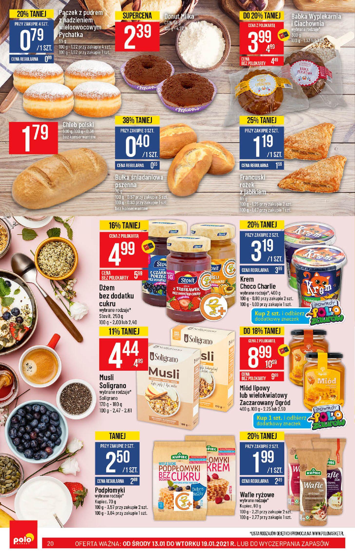 Gazetka Polomarket: Hity tygodnia od 13.01 2021-01-13 page-20