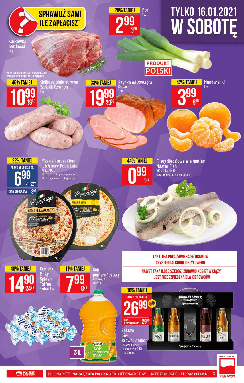 Gazetka Polomarket: Hity tygodnia od 13.01 2021-01-13 page-3