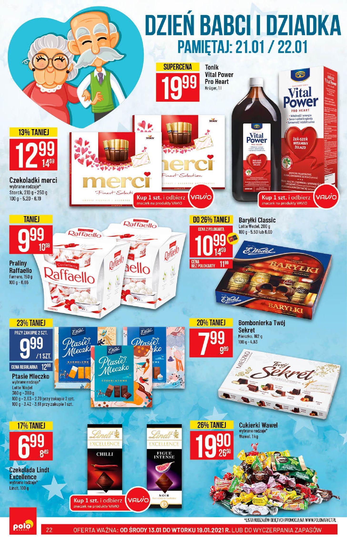 Gazetka Polomarket: Hity tygodnia od 13.01 2021-01-13 page-22