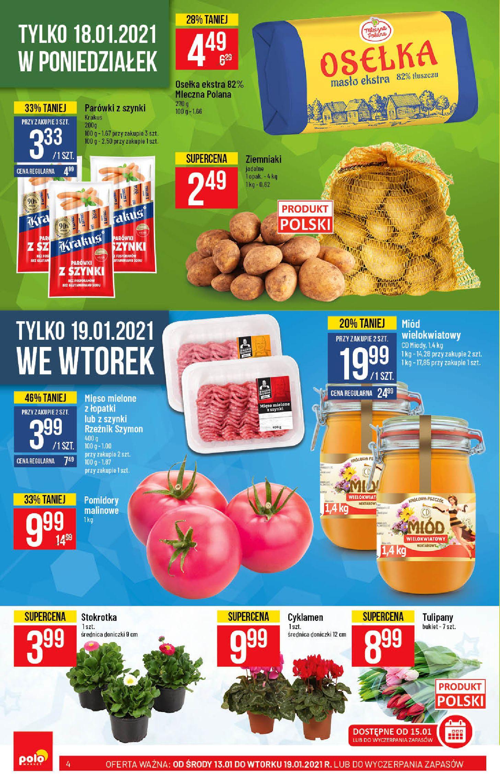 Gazetka Polomarket: Hity tygodnia od 13.01 2021-01-13 page-4