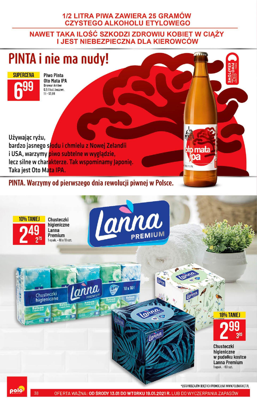 Gazetka Polomarket: Hity tygodnia od 13.01 2021-01-13 page-38