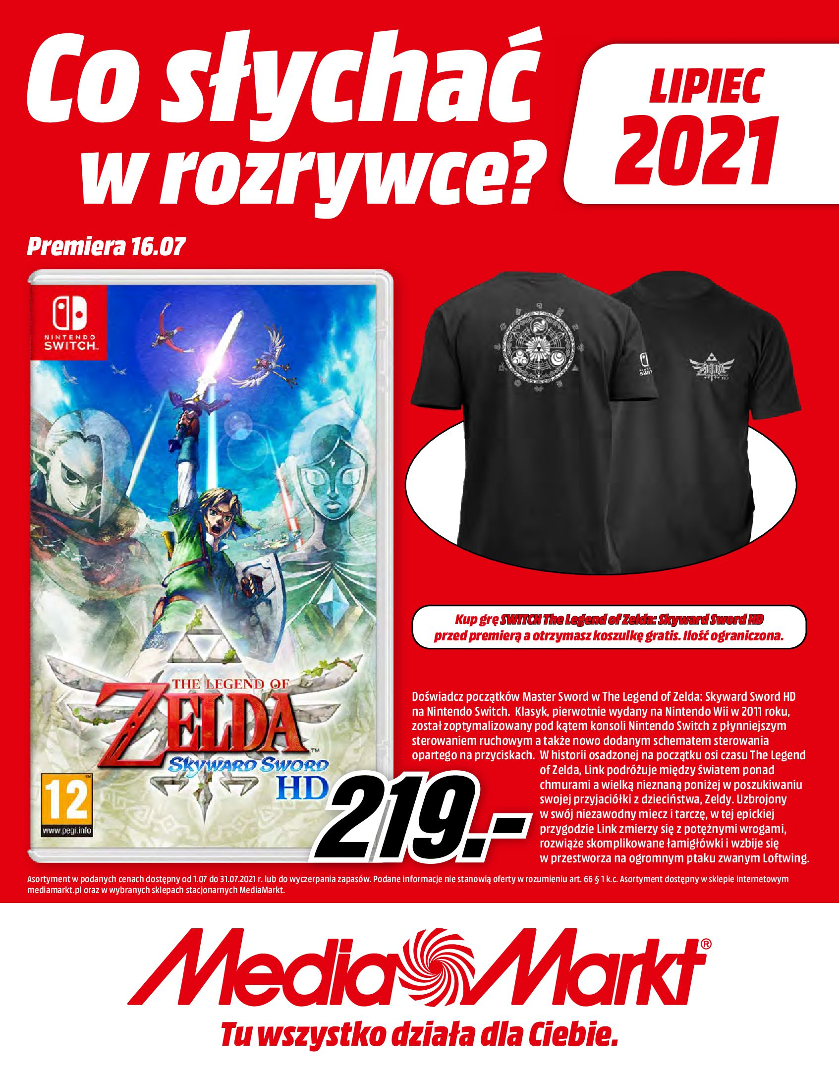 Gazetka Media Markt: Gazetka Media Markt - Lipiec 2021-07-01 page-1