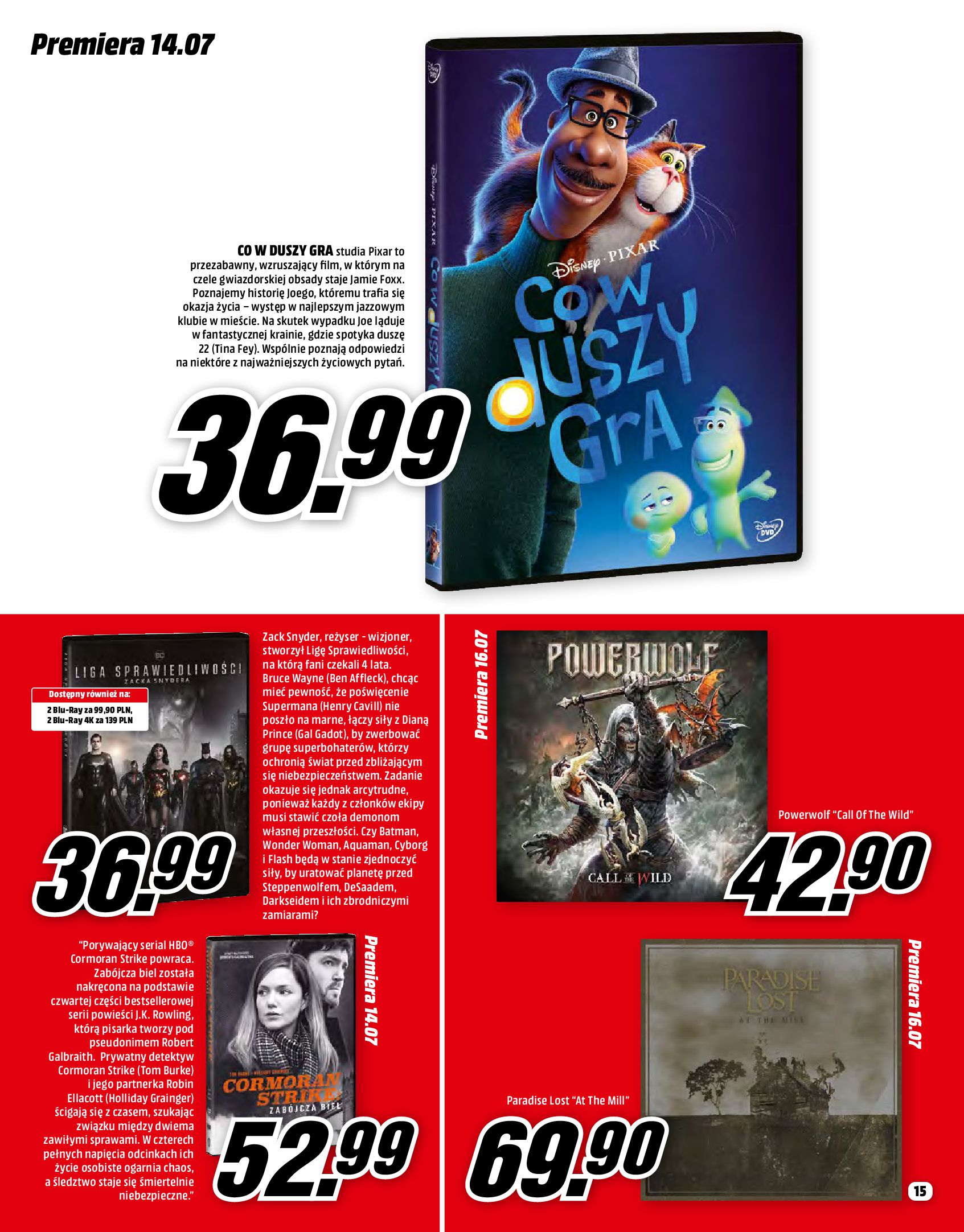 Gazetka Media Markt: Gazetka Media Markt - Lipiec 2021-07-01 page-15