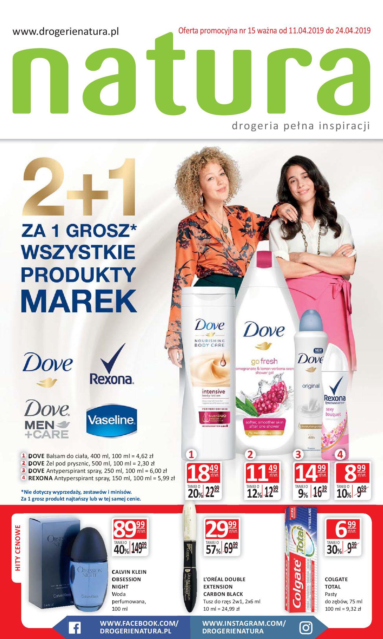 Gazetka Drogerie Natura - Drogeria pełna inspiracji-10.04.2019-24.04.2019-page-