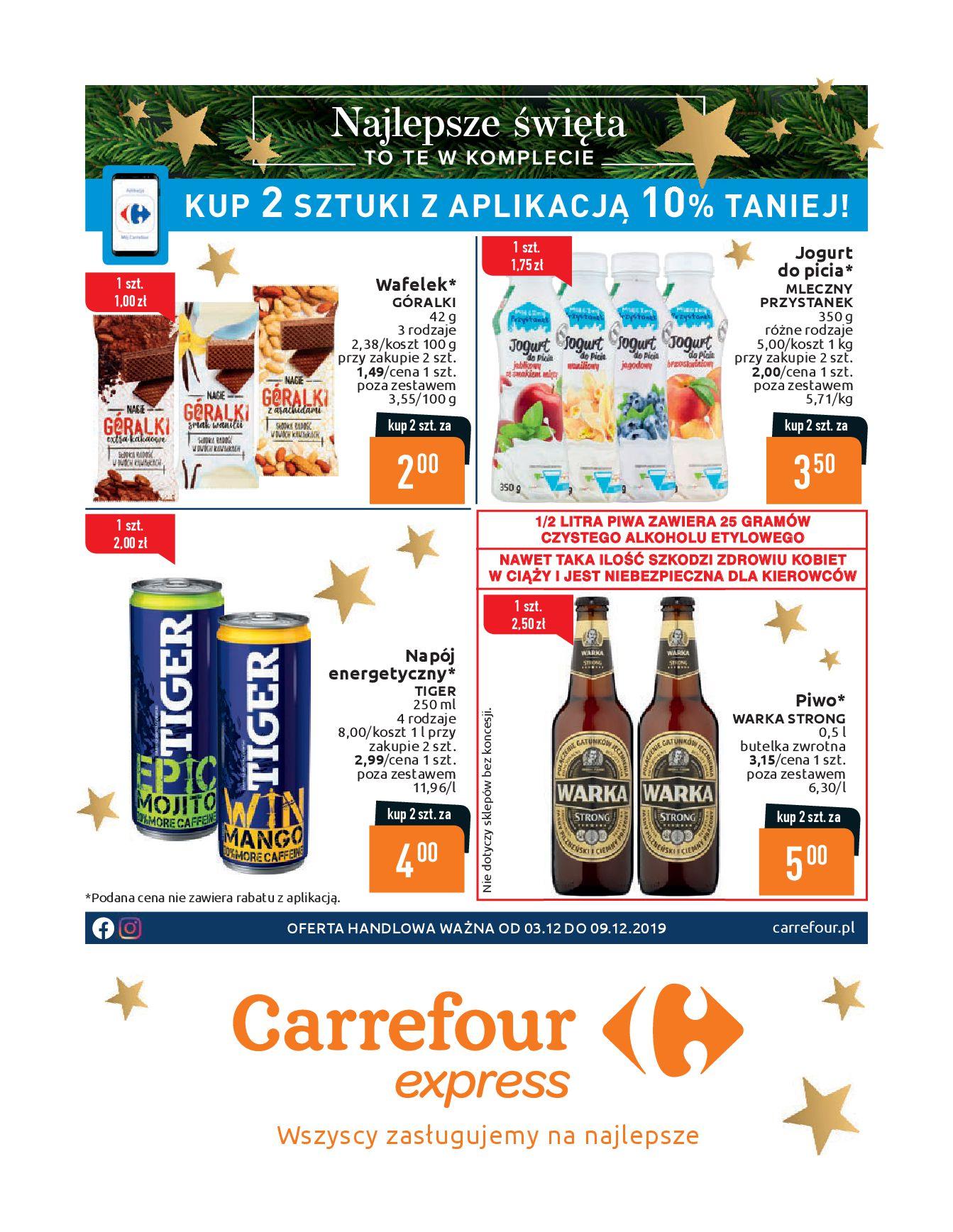 Gazetka Carrefour Express - Oferta handlowa-02.12.2019-09.12.2019-page-1