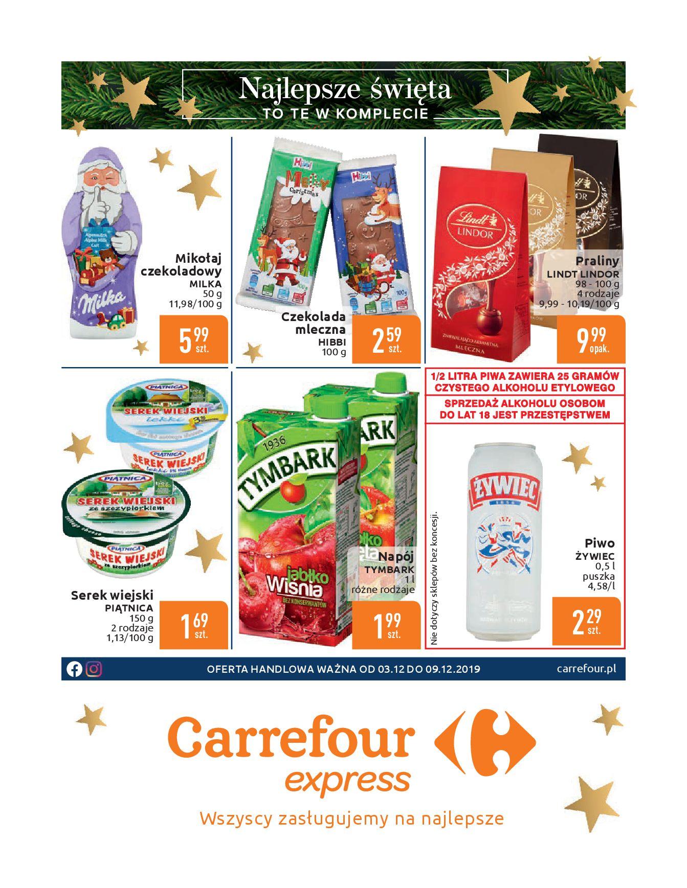 Gazetka Carrefour Express - Oferta handlowa-02.12.2019-09.12.2019-page-2
