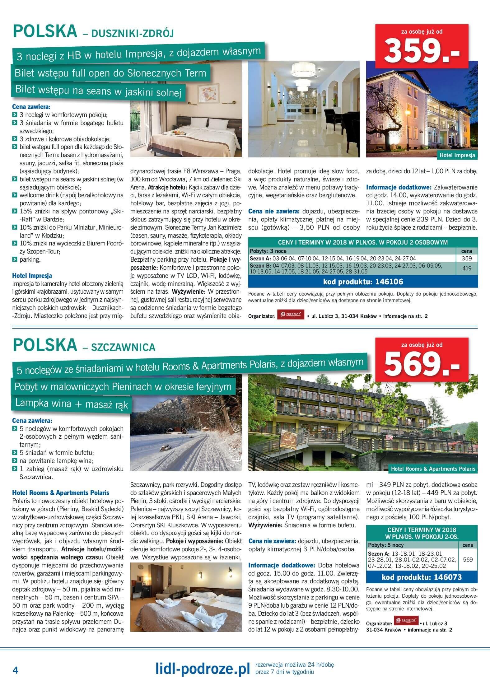 Gazetka Lidl - Lidl podróże-31.12.2017-28.01.2018-page-4
