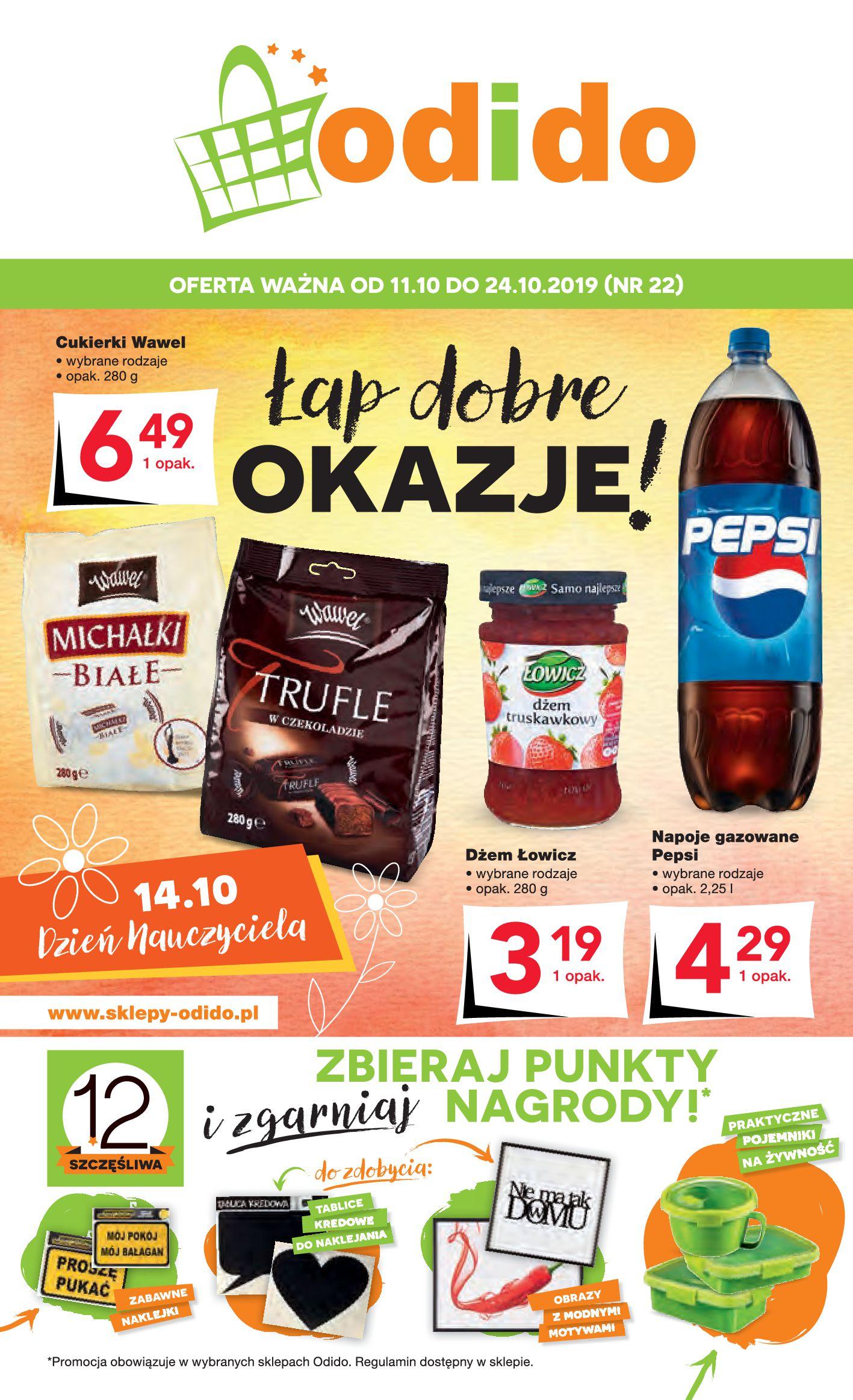Gazetka Odido - Łap dobre OKAZJE!-10.10.2019-24.10.2019-page-