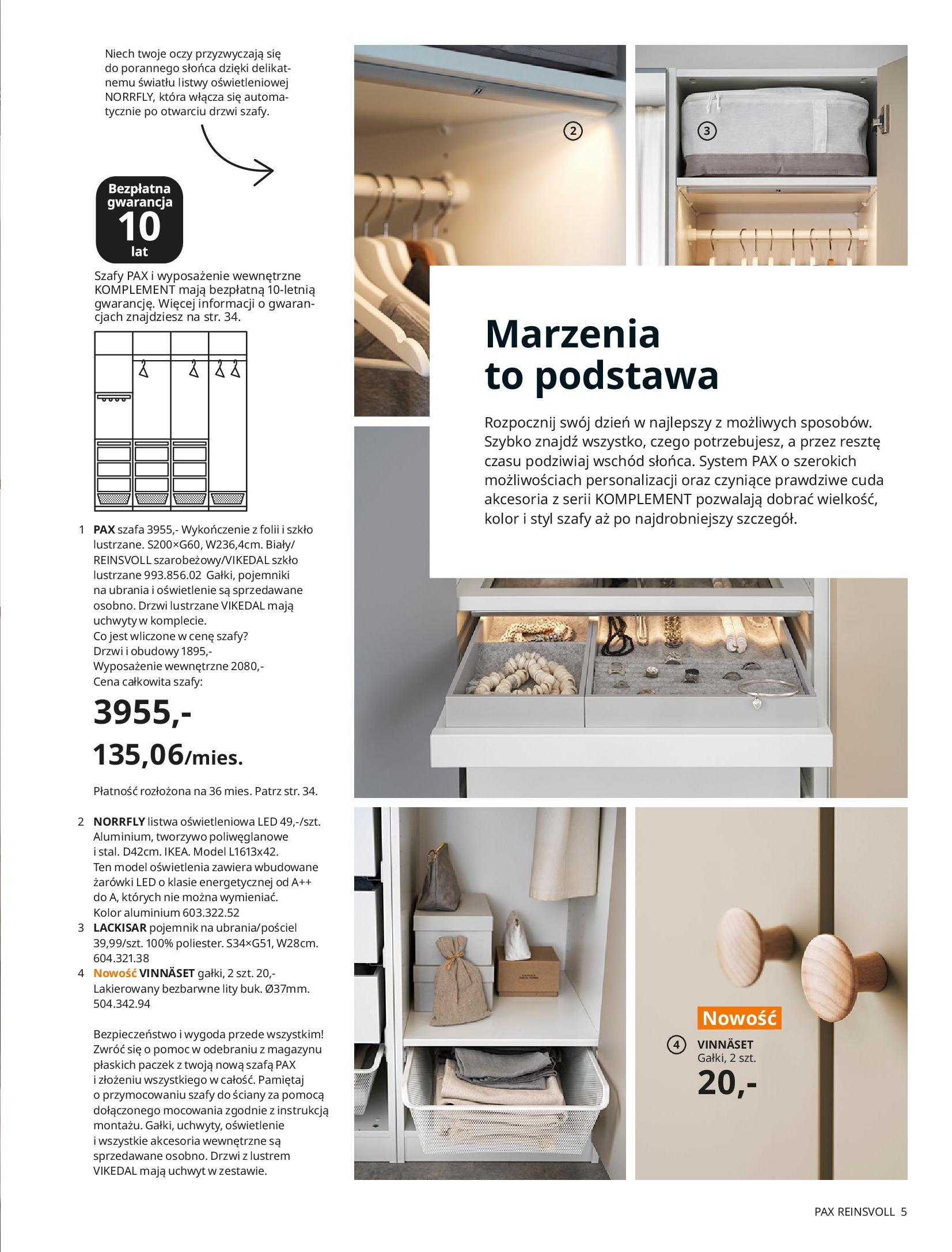 Gazetka IKEA: SZAFY 2021 2021-01-13 page-5