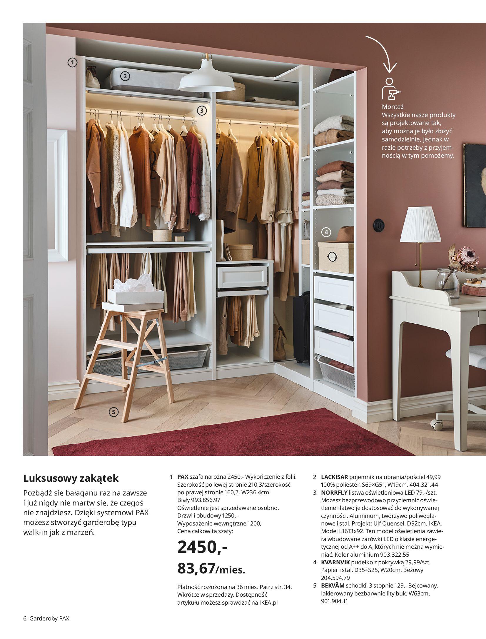 Gazetka IKEA: SZAFY 2021 2021-01-13 page-6