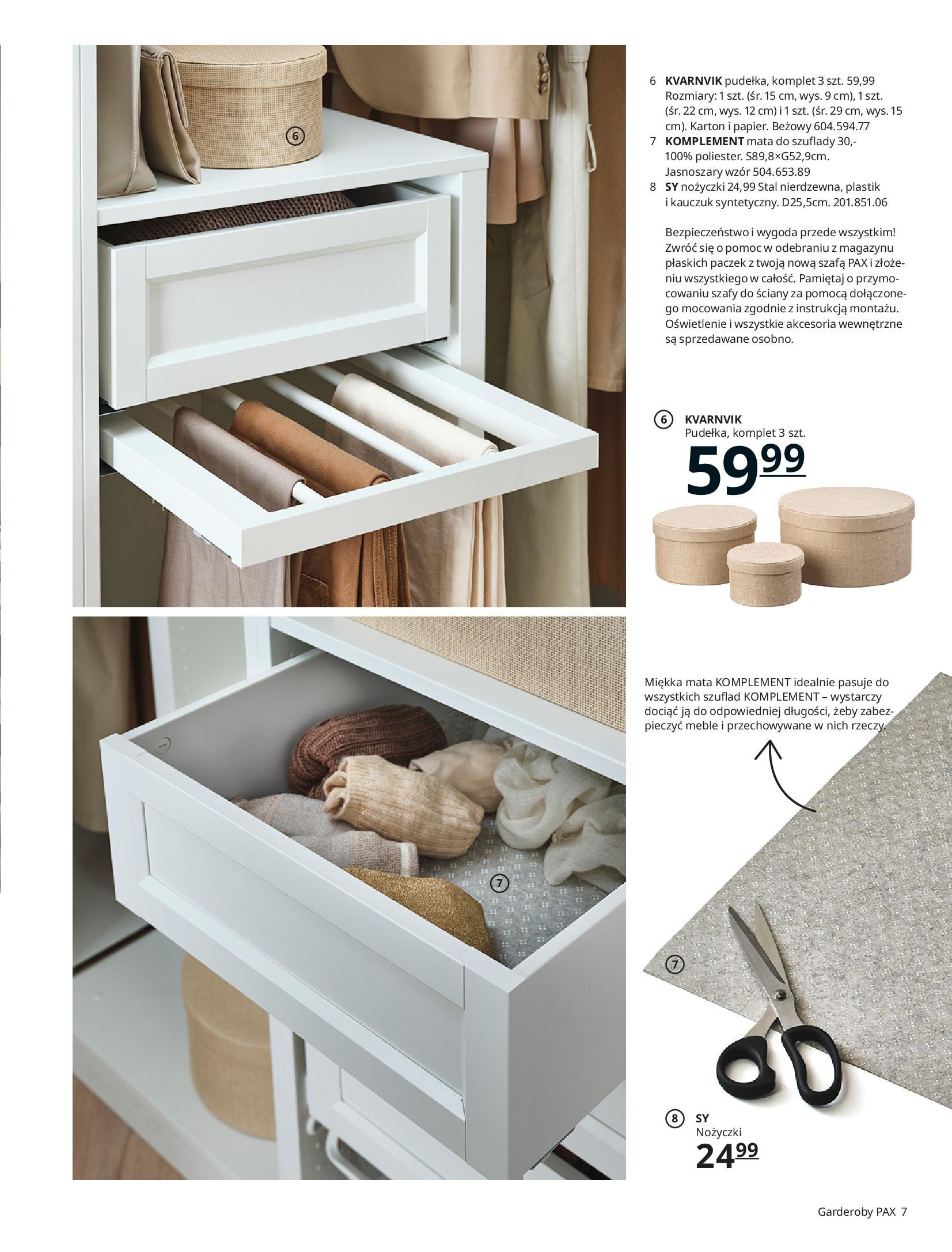 Gazetka IKEA: SZAFY 2021 2021-01-13 page-7