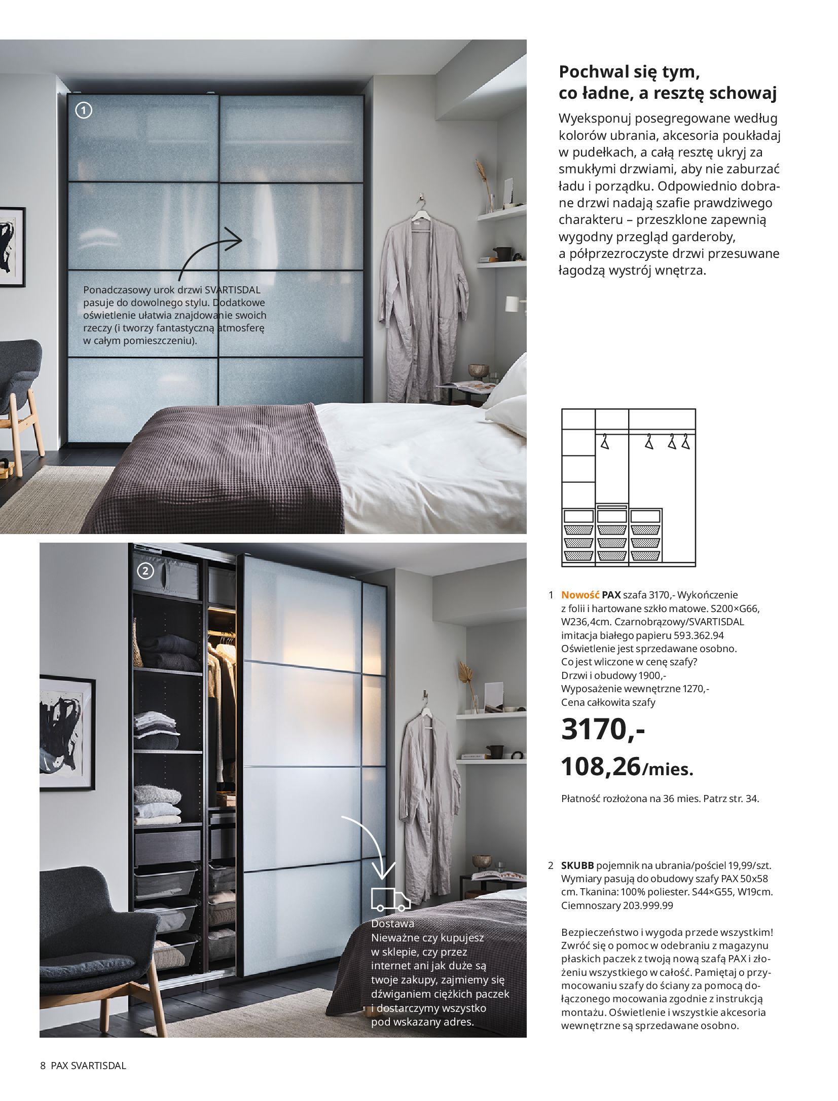 Gazetka IKEA: SZAFY 2021 2021-01-13 page-8